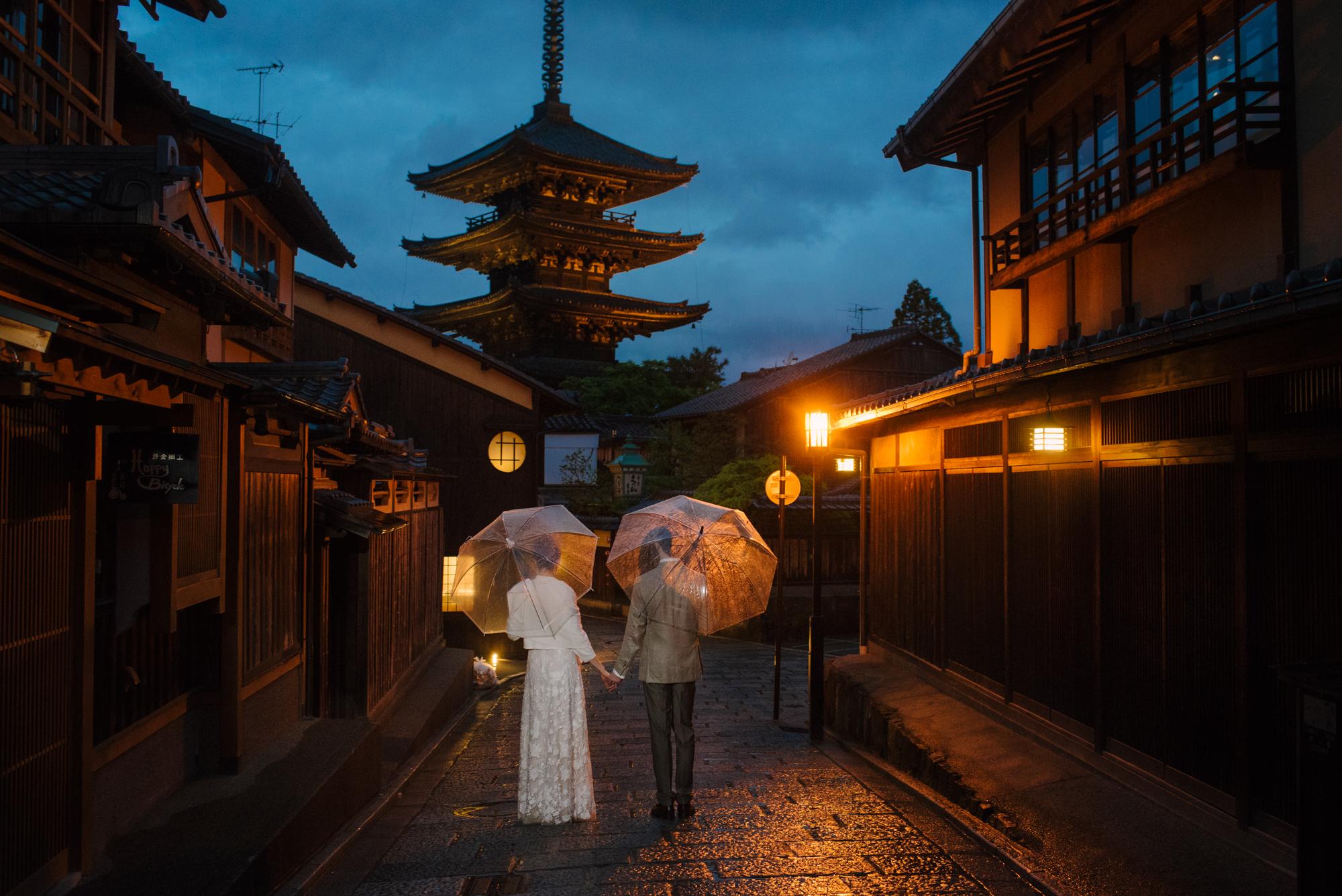 kyoto wedding japan elopement