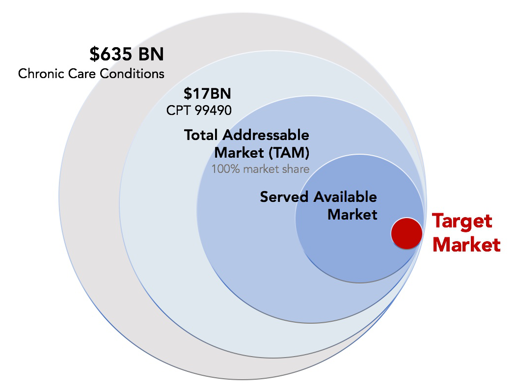 Example of a Healthcare Target Market (TAM)