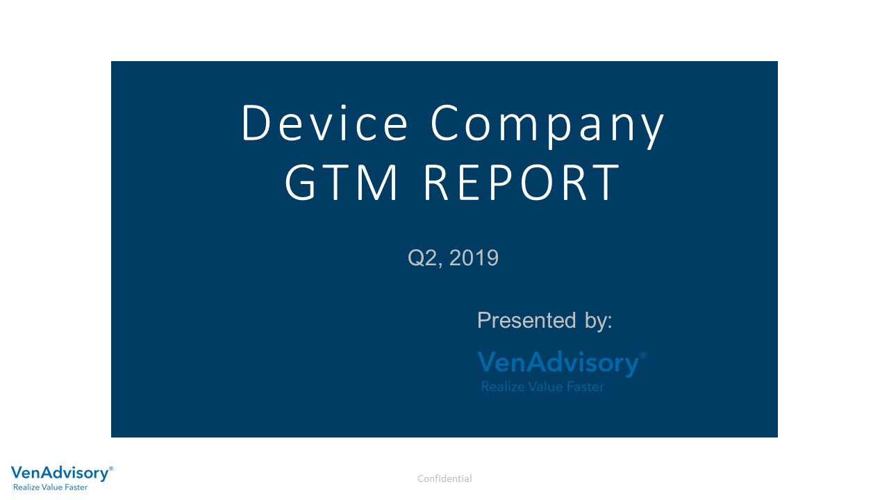 Device Company GTM Market Report, Q2. 2019
