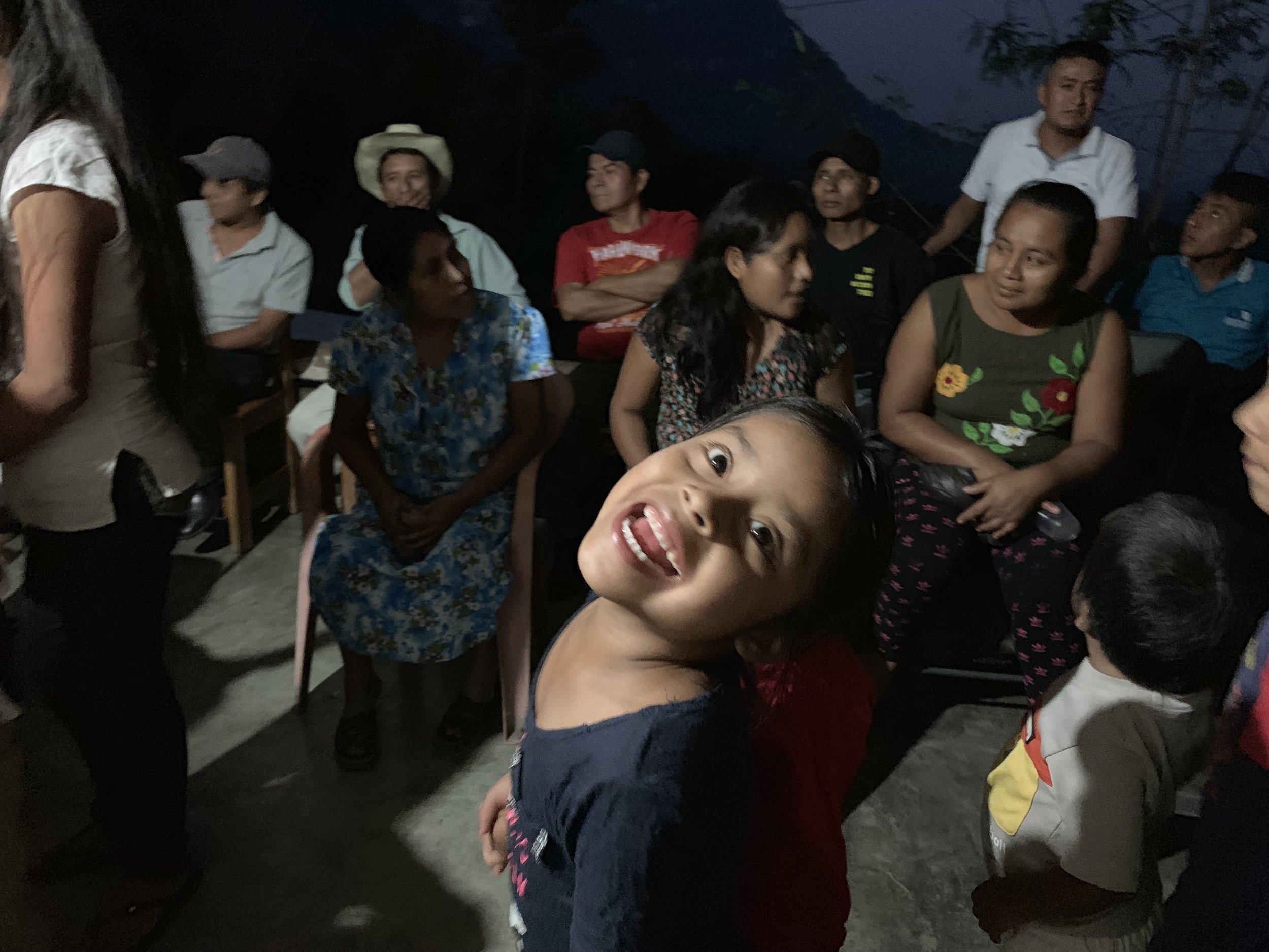 Local kids in San Bartolomé Ayautla. Photo by Teddy Garlock.