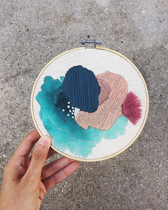 Missing some down time with my hoops 🌑🌸 . . . #liminalme #art #TasteMadeMeDoIt #flowmagazine #designboom #artwork_in_studio #ratedmodernart #todaysartreport #contemporarypainting #contemporaryartcurator #tadaan #contemporaryembroidery #damngoodstitch #embroidered #embroidery #embroideryart #embrodery #embroider #embroiderydesigns #embroideryhoop #embroideryhoopart #handembroidery #needlecraft #stiching #stitch #embroiderylove #handstitched #embroiderywork #miami #miamiart via @preview.app