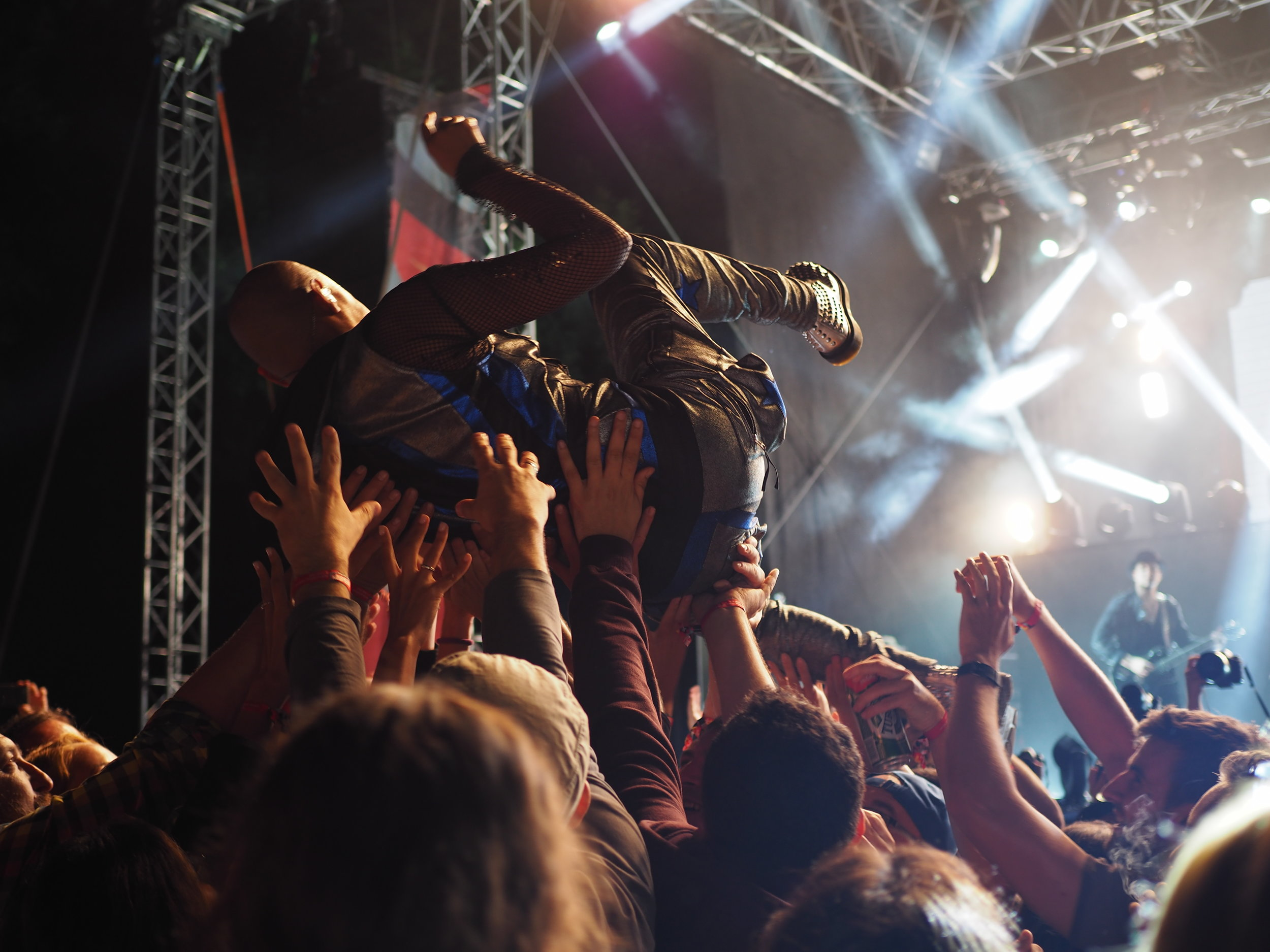 """Booking - More gigs means more chances to make more fans. You got the stage presence now Contact Us Today and """"Lets get your show on the road!""""-Merchandising-Tour management-Research-Routing"""