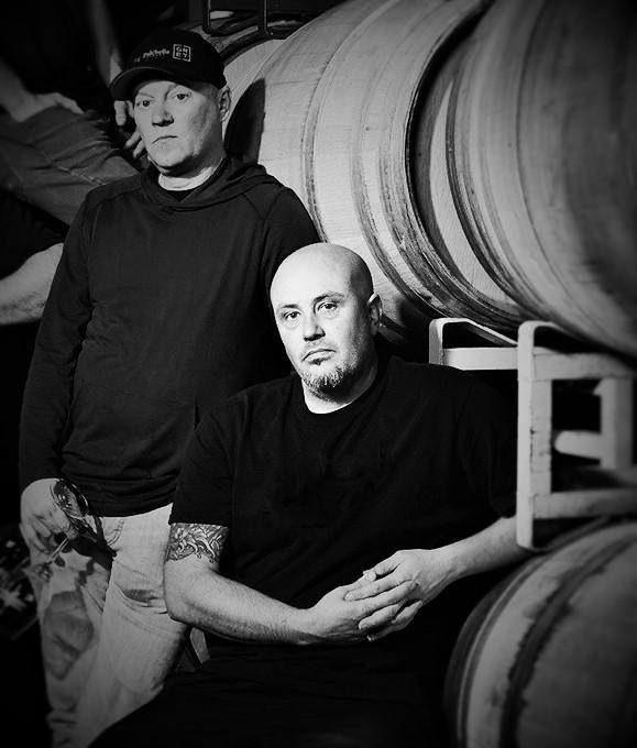 Steve Lemley Nate Hasper Byron Blatty Wines Winemakers