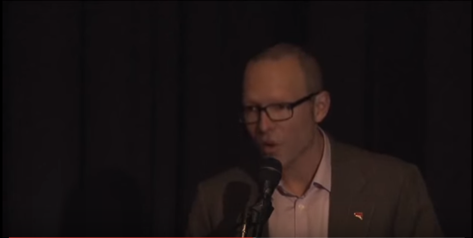 Craig Wilkins, Conservation Council of South Australia, 1 April 2015. Still image from video