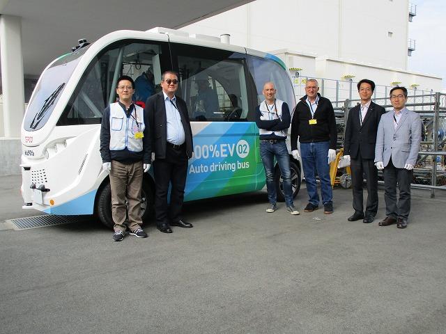 Autonomous electric buses