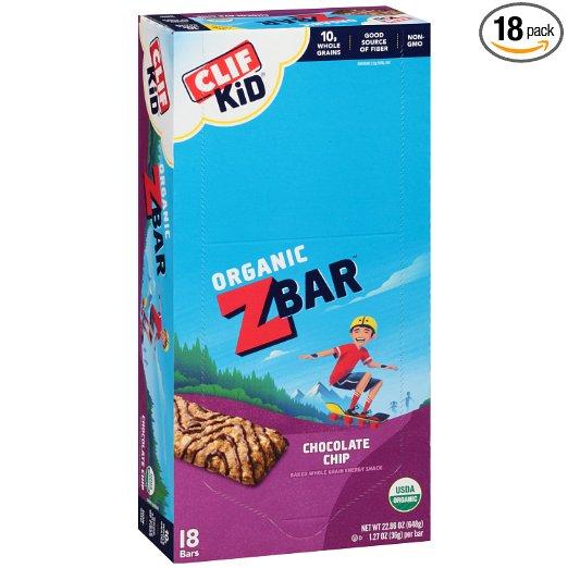 Kid's Cliff Bars
