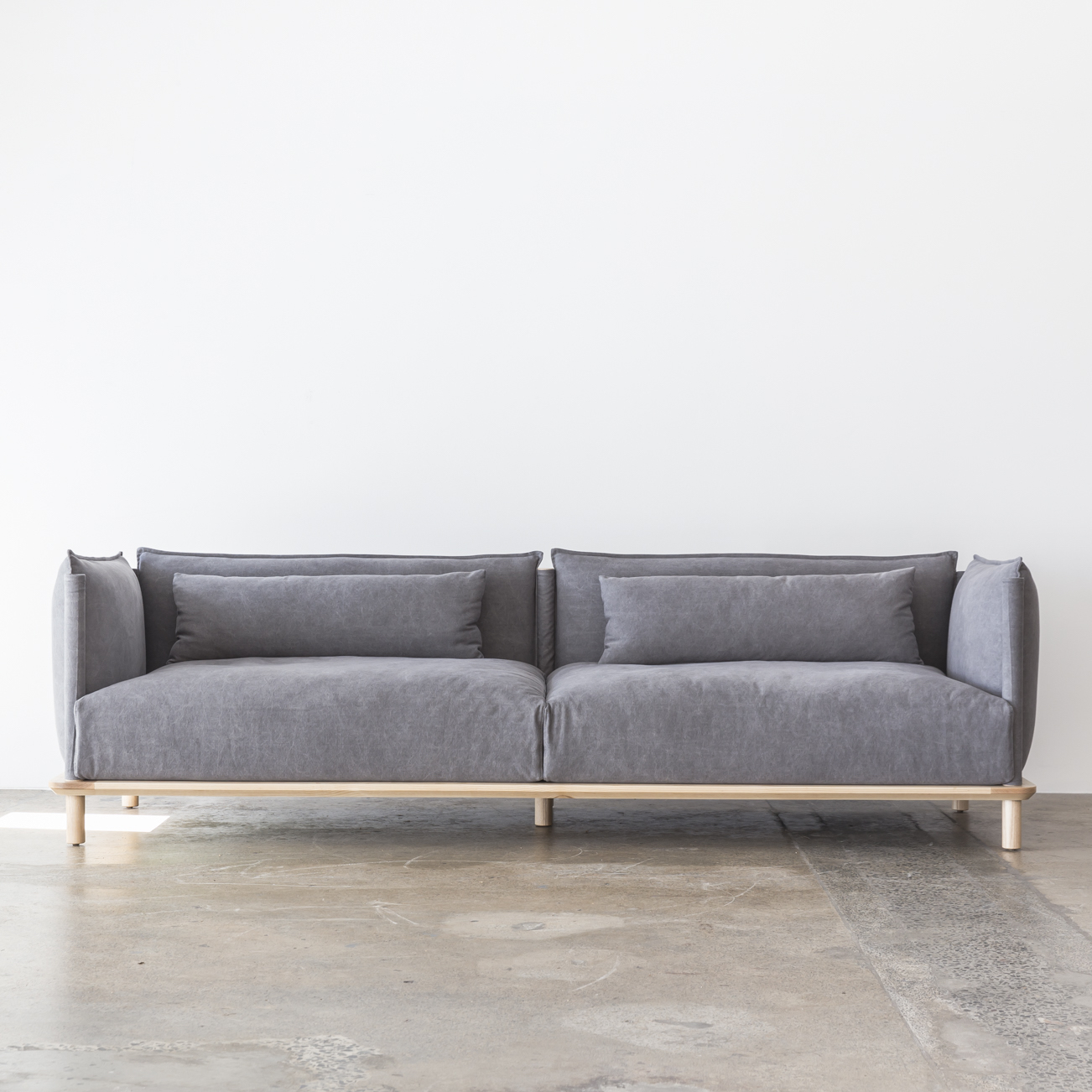 Our Tatami sofa in Charcoal