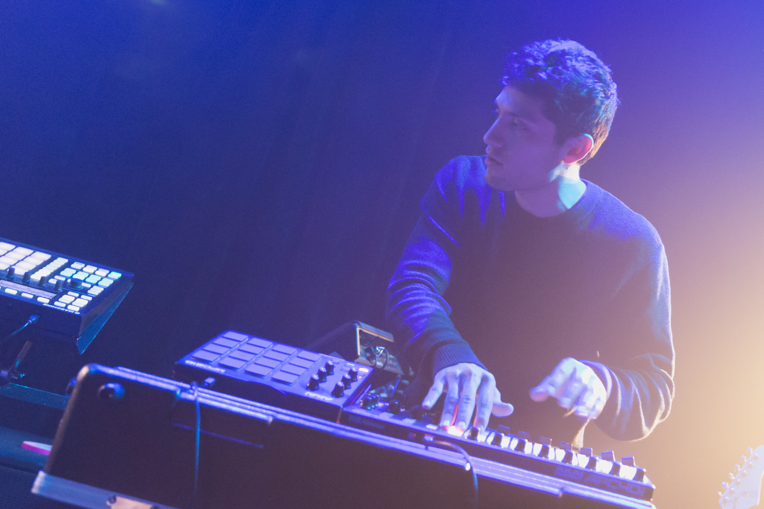 Petit Biscuit at Rickshaw Stop in San Francisco by Ian Young 01.jpg