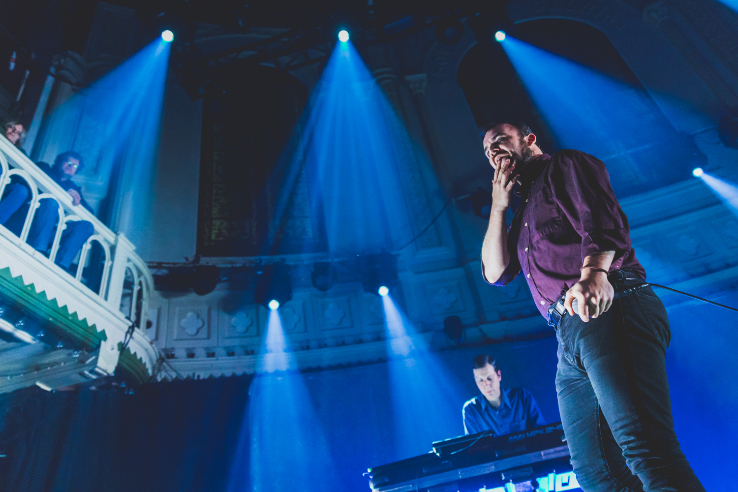 Future Islands at Paradiso in Amsterdam by Ian Young 09.jpg