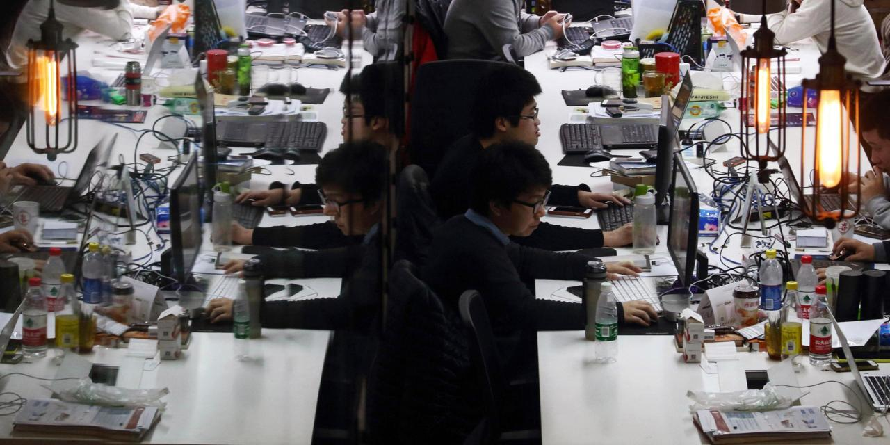 Inside the high-pressure world of China's start-up workers