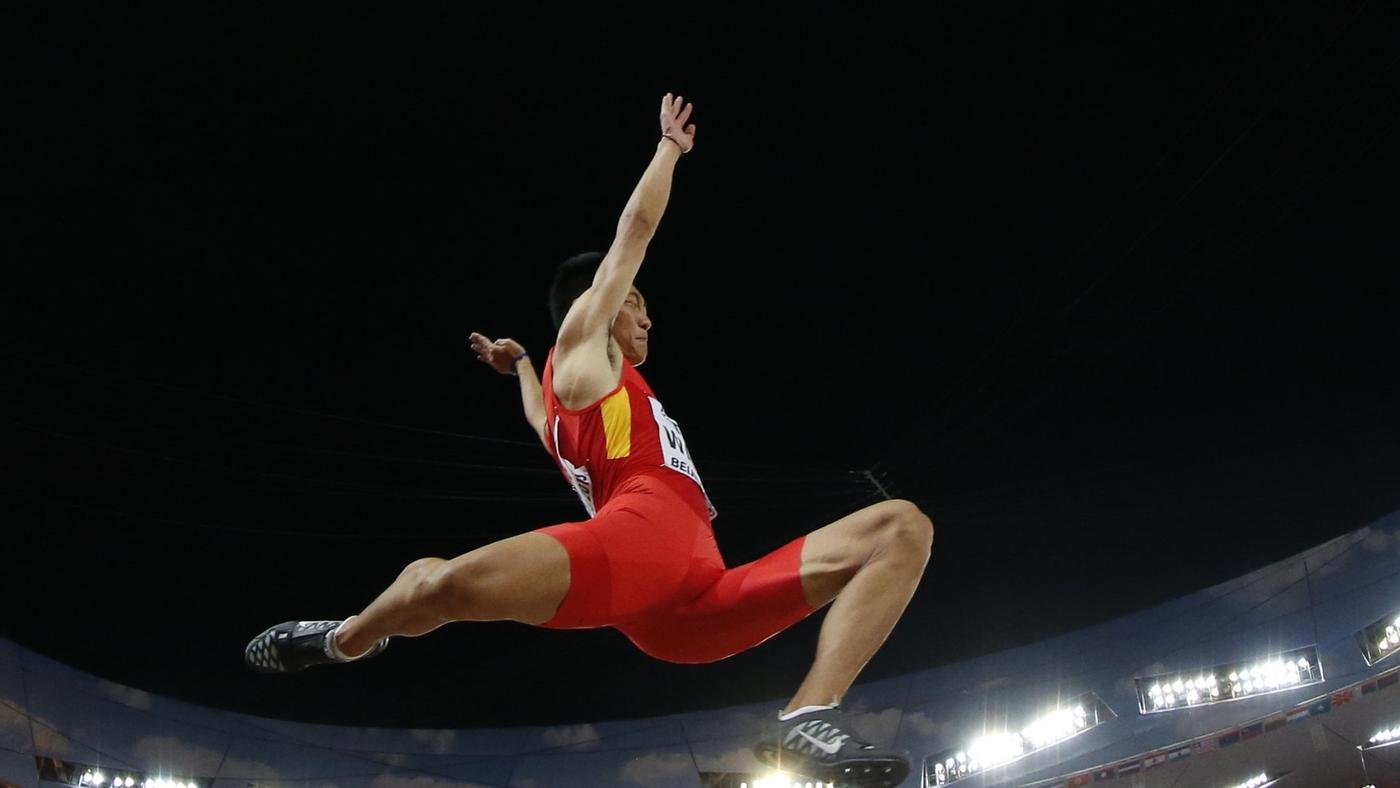 China Wins Long Jump Gold in Breakout Moment at Worlds