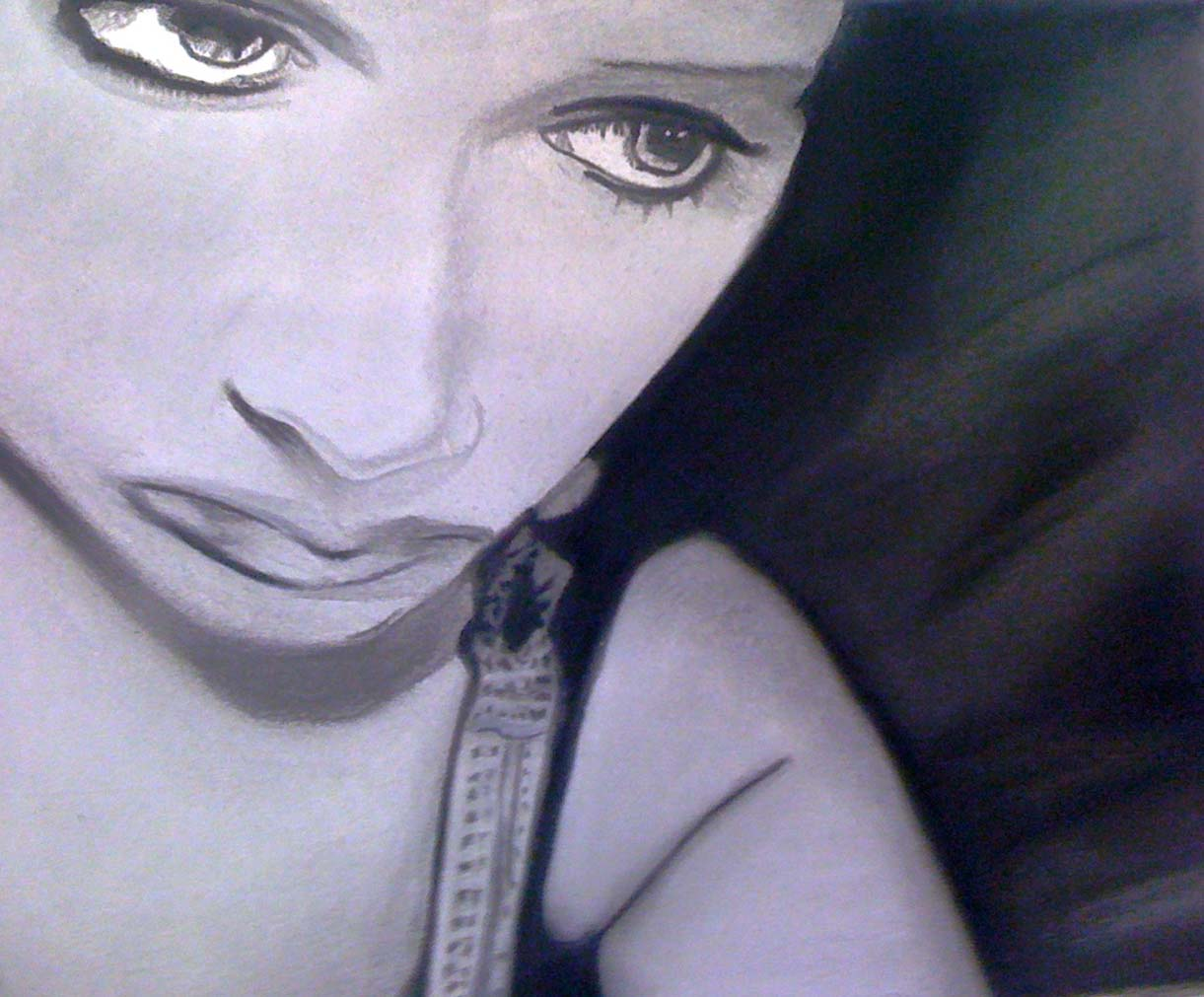 2010, Charcoal on Paper