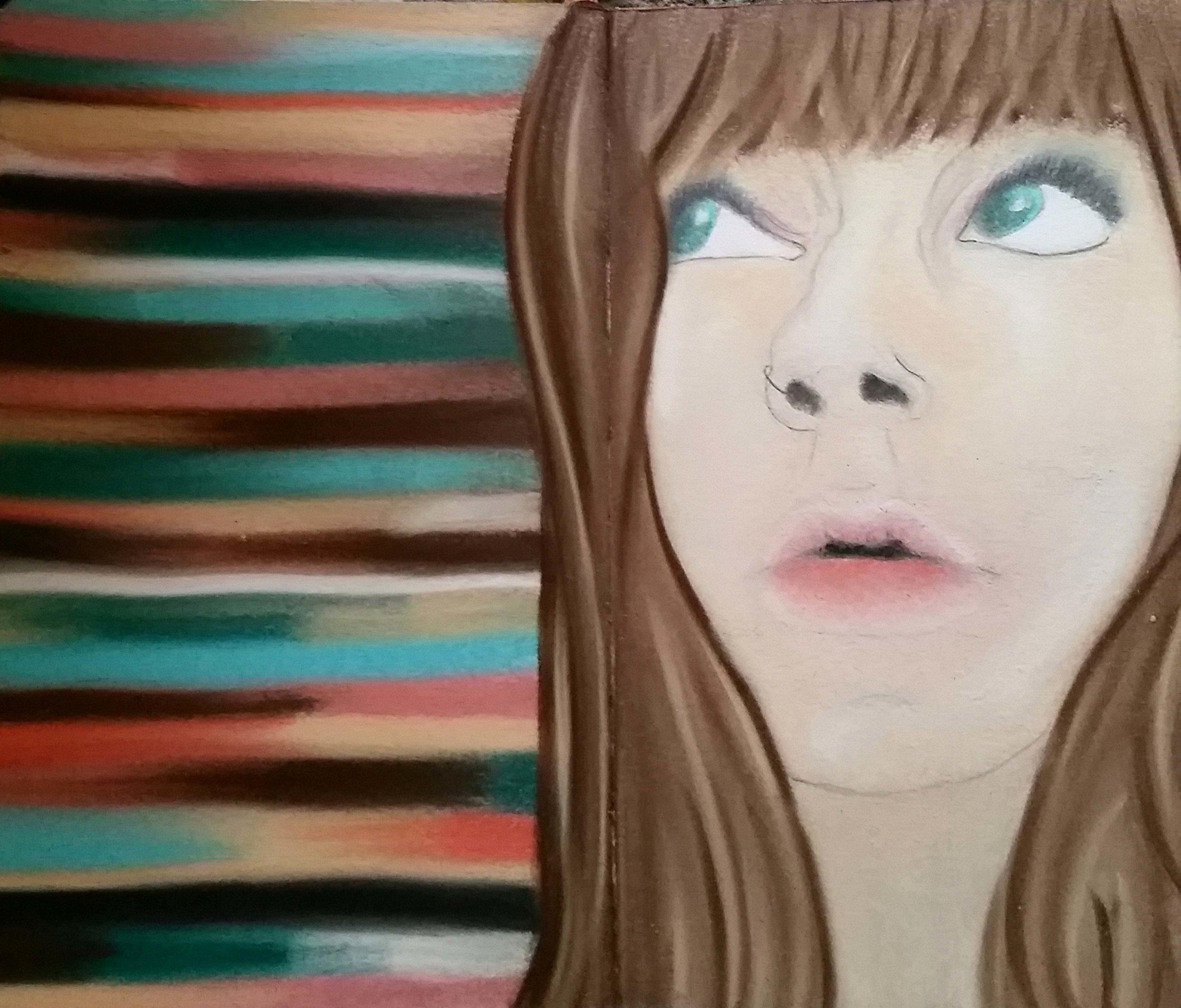 2015, Pastel on Paper