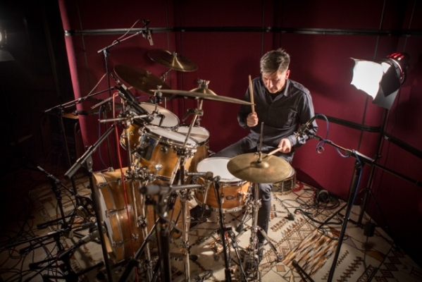 Cinematic drummer Chris Whitten has scored many a soundtrack for documentaries and award winning tv