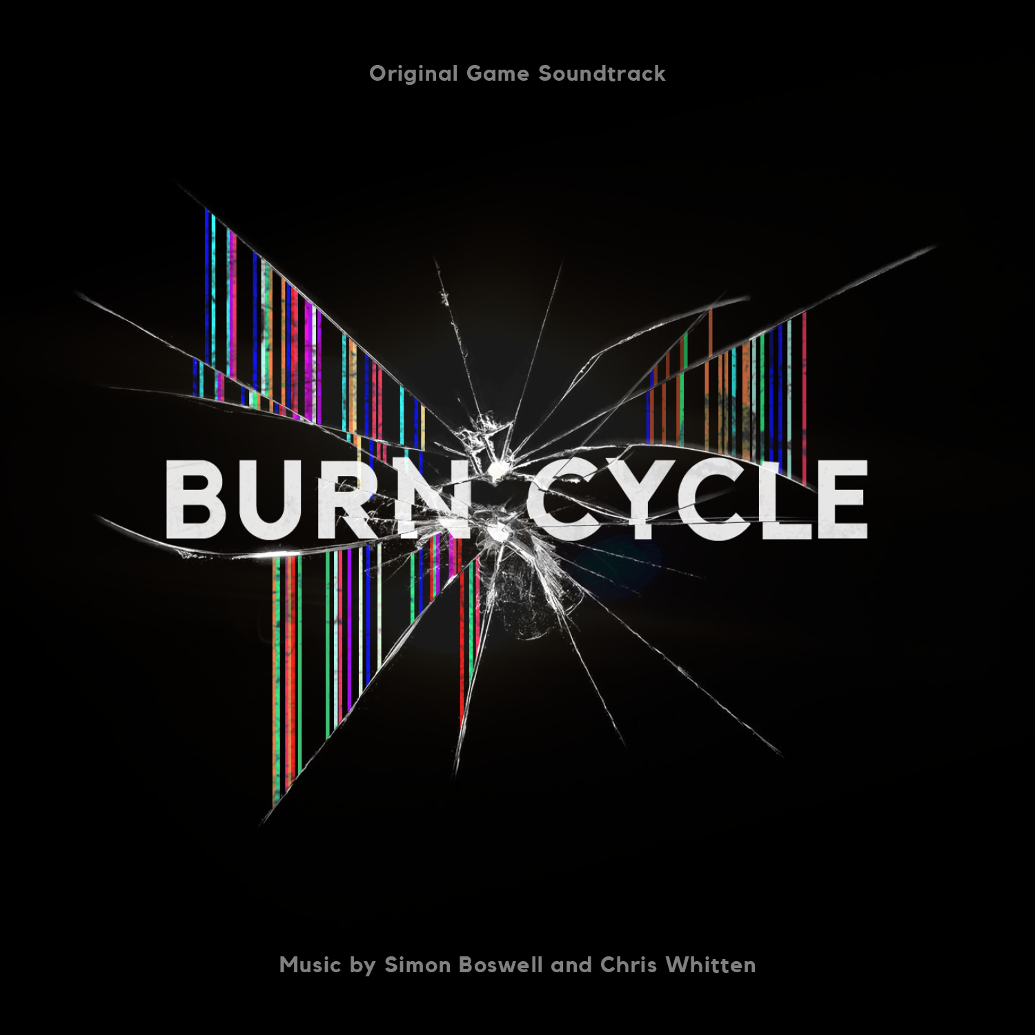 New music, downtempo electronica, filmscore soundtrack composer Simon Boswell and synth collector Chris Whitten electronic cinematic sounds of Burn:Cycle Original Game Soundtrack. Released by record label Here & Now Recordings Cinematic Sounds based in Woking, United Kingdom