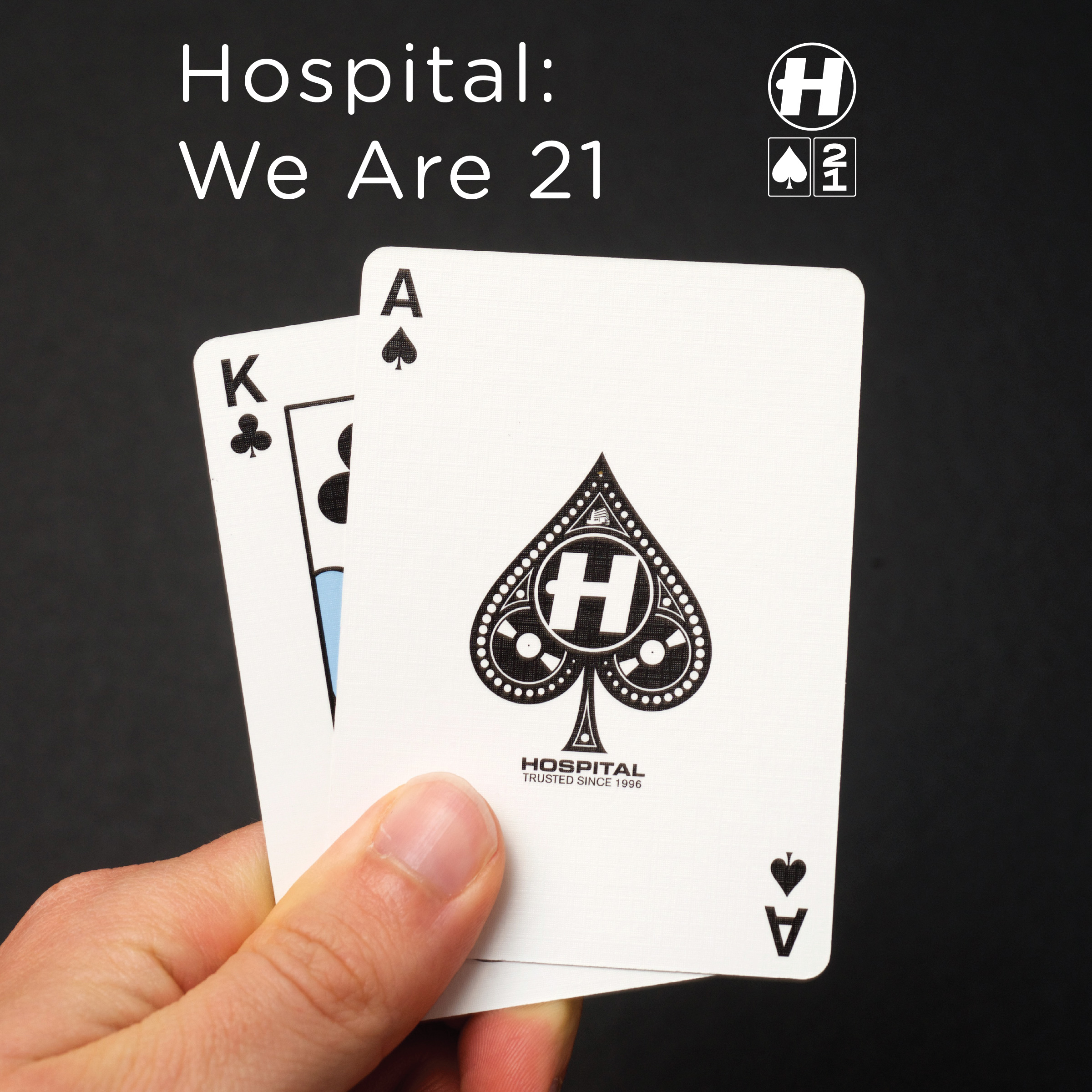New music released by Hospital Records including Ambient Jazz Ensemble, Dylan Colby, Machinedrum, London Elektricity and tonnes of other fine heavyweight cinematic sounds for the dancewfloor to celebrate 21 years of Hospitality. We Are 21 !