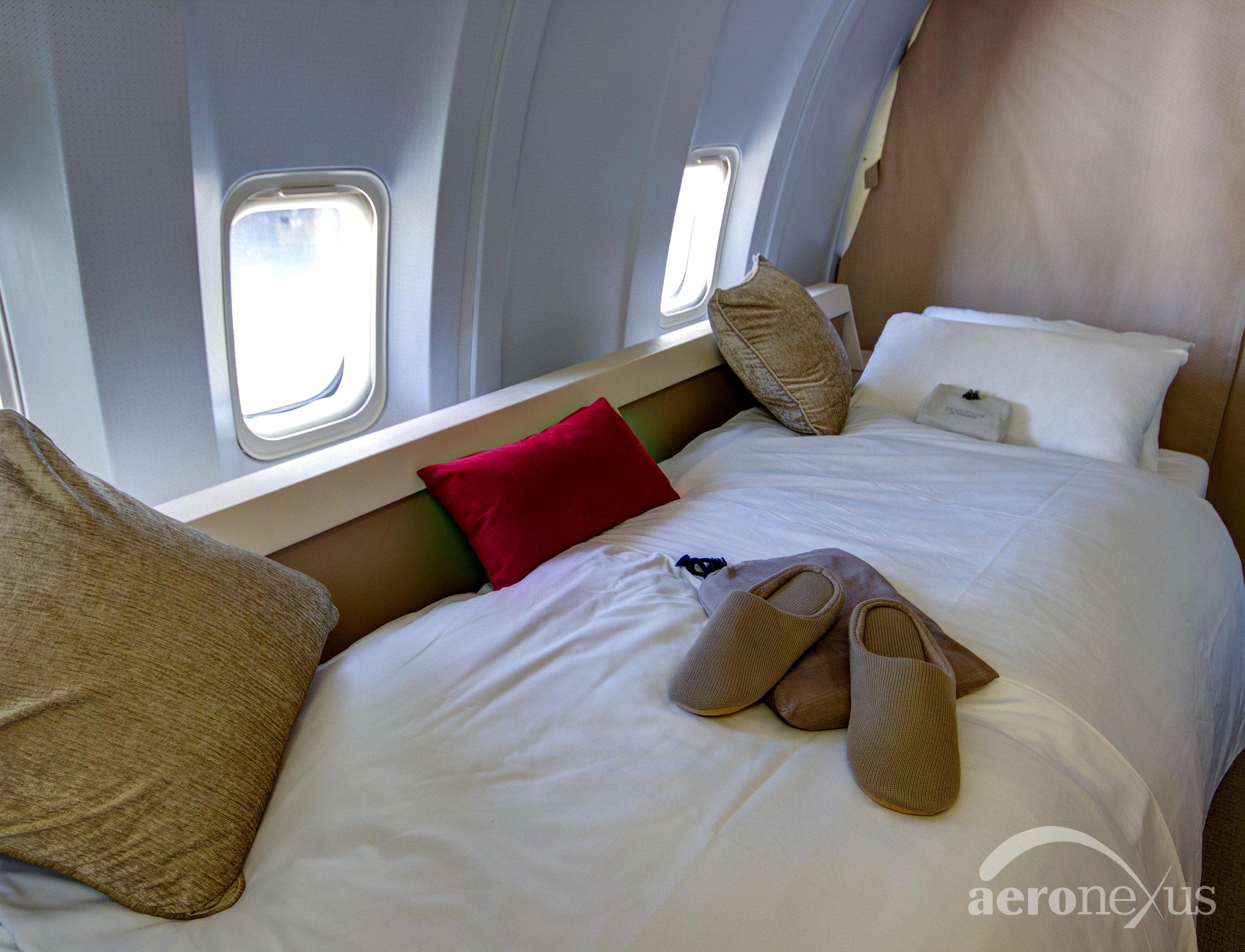 Aeronexus | VIP Boeing 767-300ER | Interior Bed