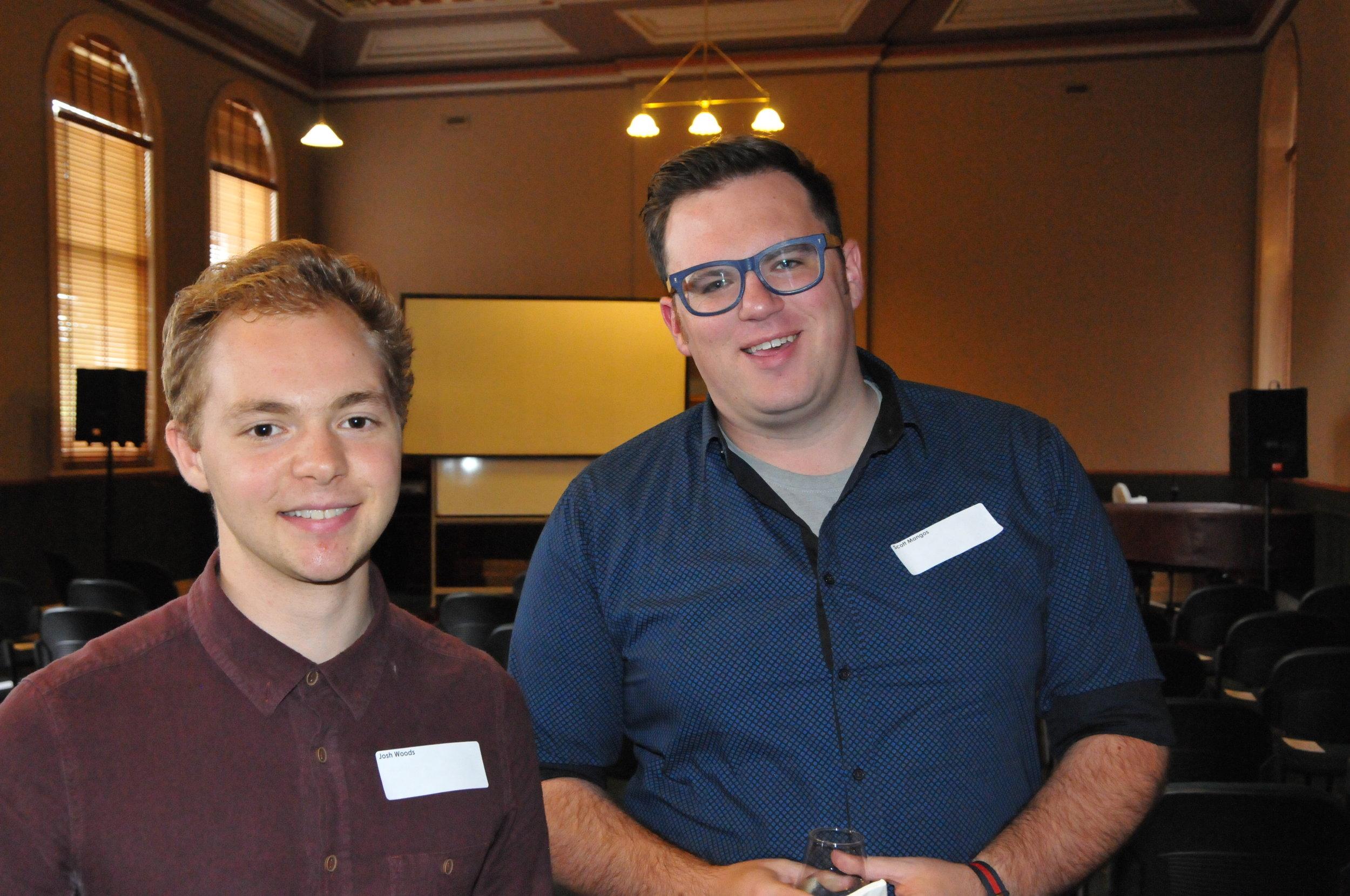 Josh Woods and Scott Mangos