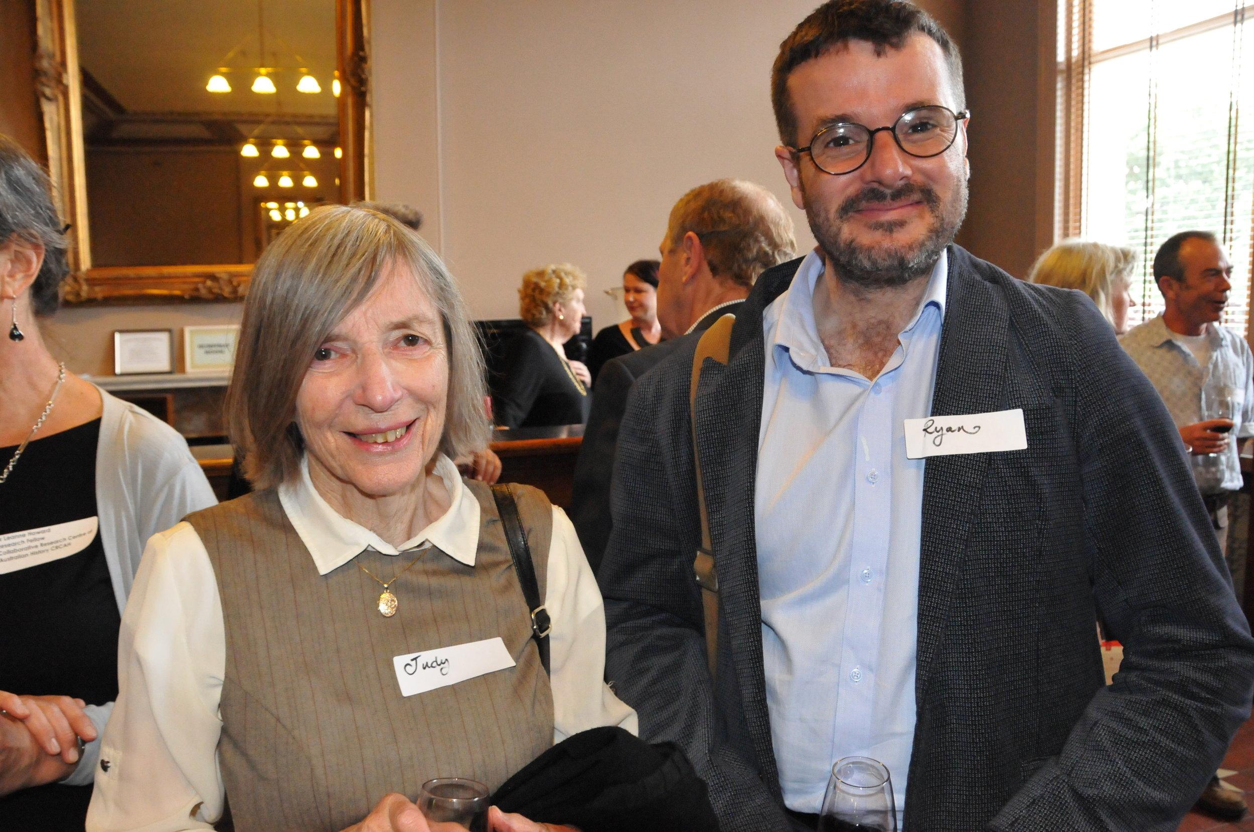 Judy Housten and Ryan Bennett