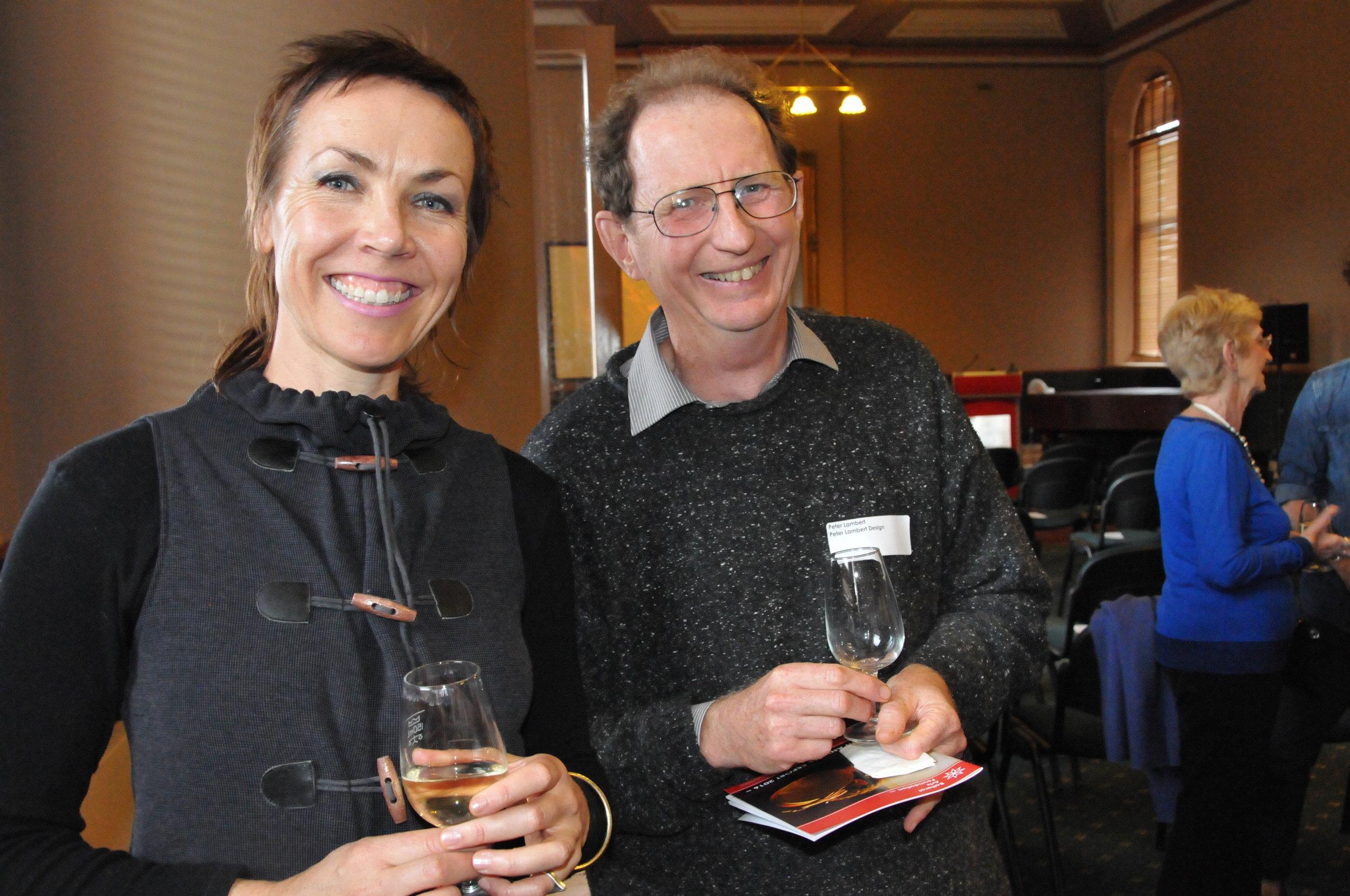 Kat Pengelly and Peter Lambert