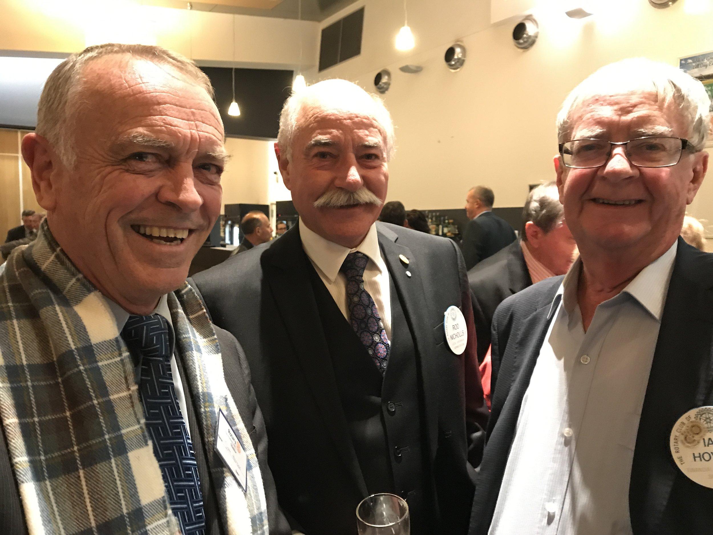 Sam Henson, Rod Nicholls & Ian Howe