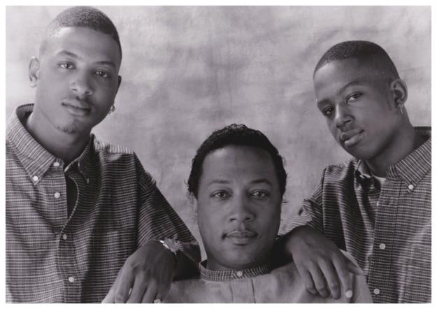 [1994] Omari (Preachakid), Billy Sr. (CEO), JoJo (COO)