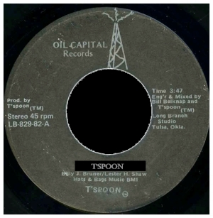 **VISIT Contact Us Page to Order**      BBMG/Oil Capital Records (Billy J. Bruner, Lester H. Shaw, Bill Belknap - Engineer)