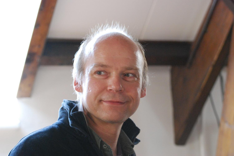 Bert van Baar tijdens een workshop