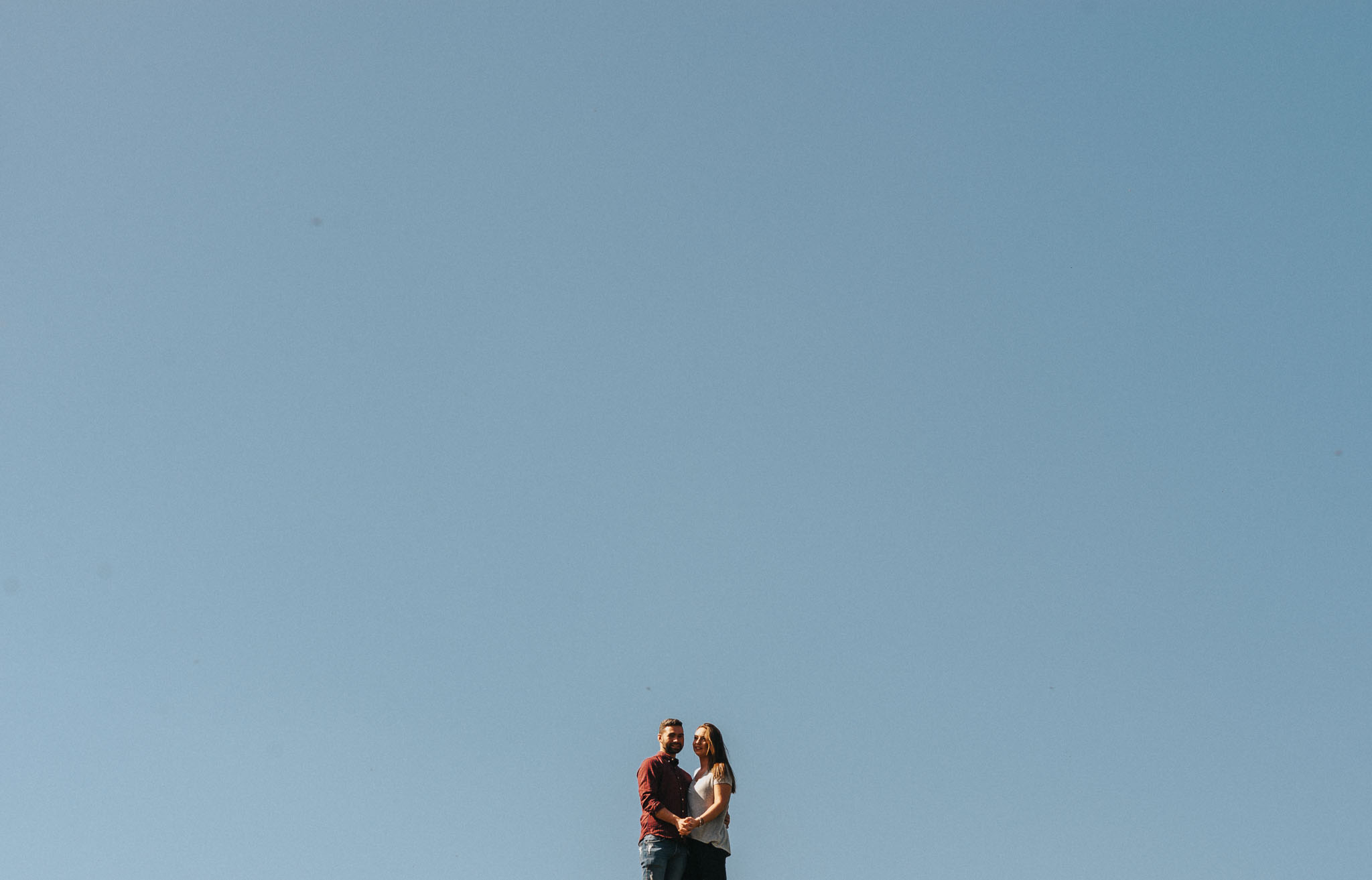 WEDDING: Epic adventure complete with smoke bombs for a fun filled alternativ engagement shoot in cheshire