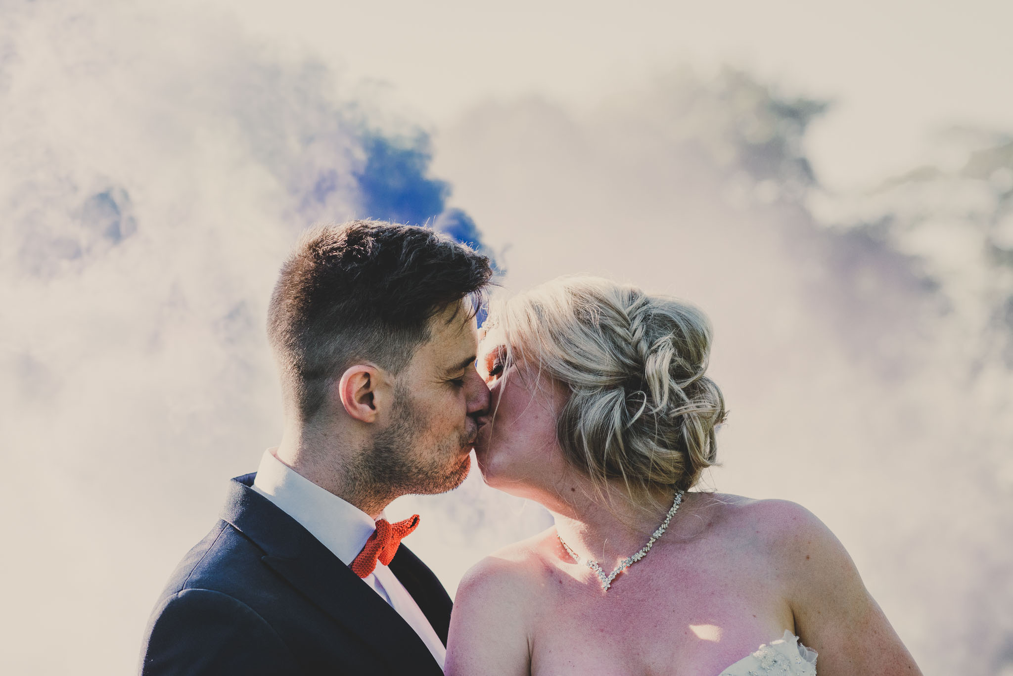 WEDDING: WEDFEST - a festival wedding in Styal Lodge complete with stilt walkers and fire breathers