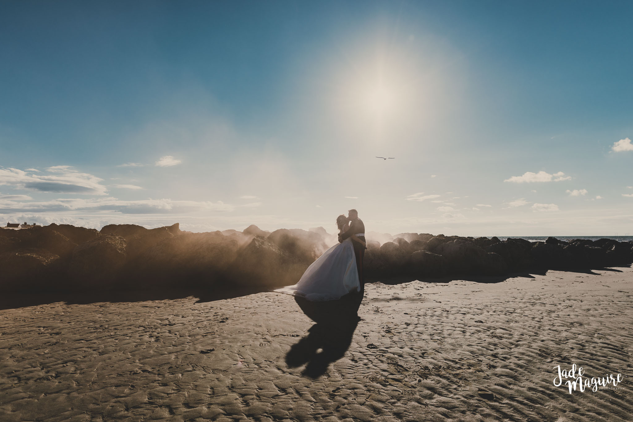 Elisha and Andrew - a Military beach wedding - This woman is absolutely Fan-bloody-tastic, her work is absolutely stunning and is such a lovely person, my new hubs and I can't thank you enough Jade - roll on my photoshoot.
