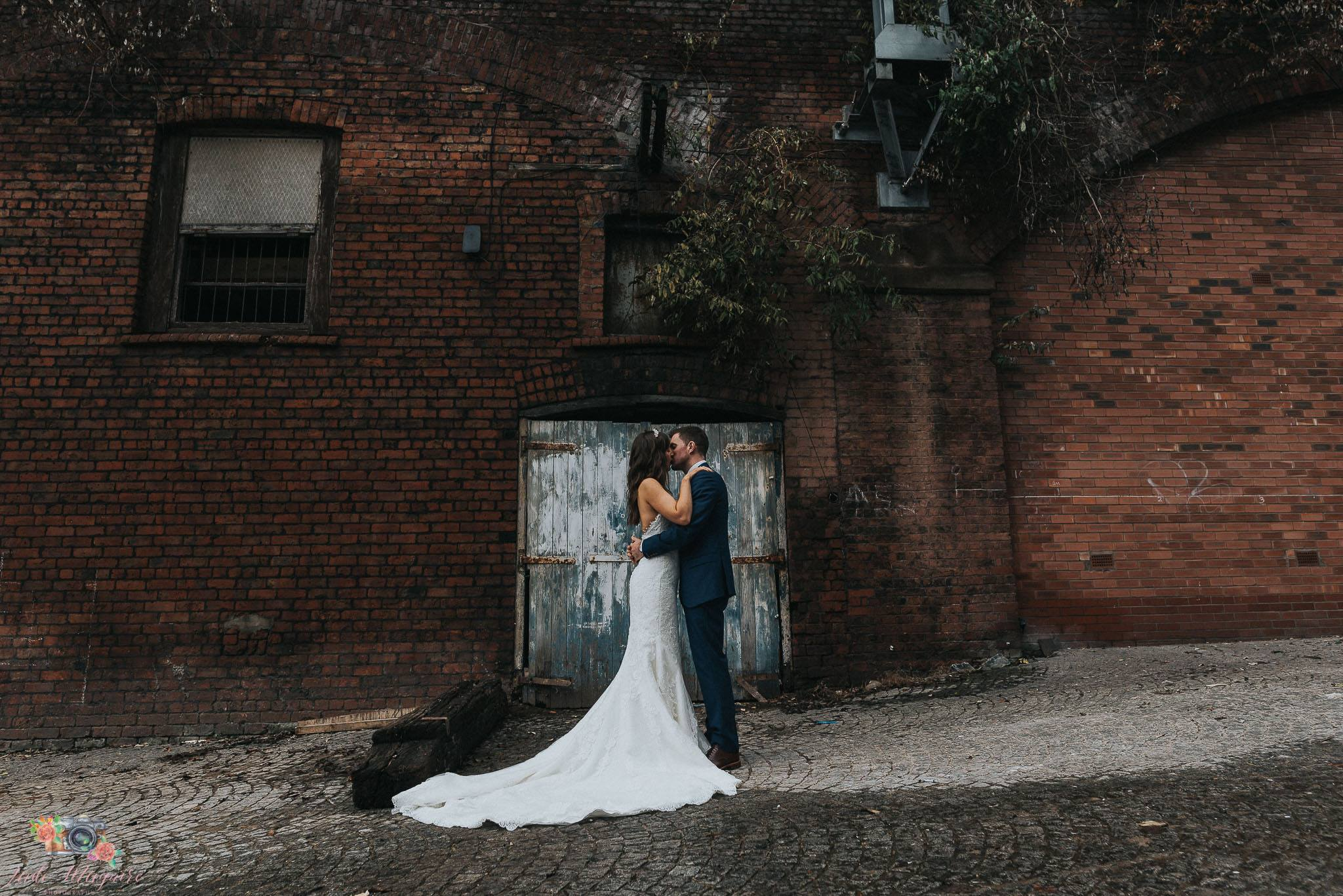 Urban wedding photography workshop - manchester