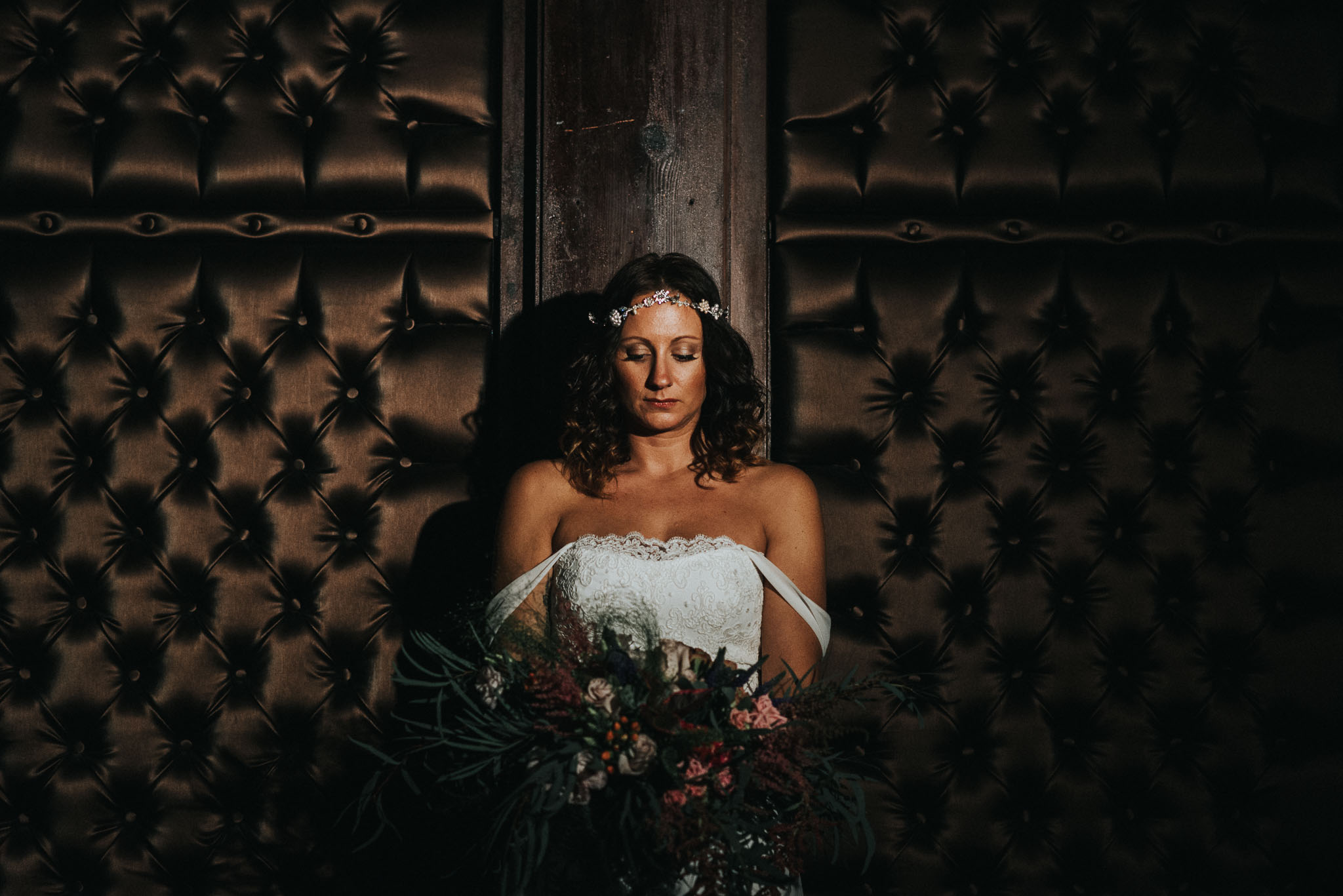 Are you afraid of the dark- a wedding photography workshop at the Belle Epoque, Cheshire