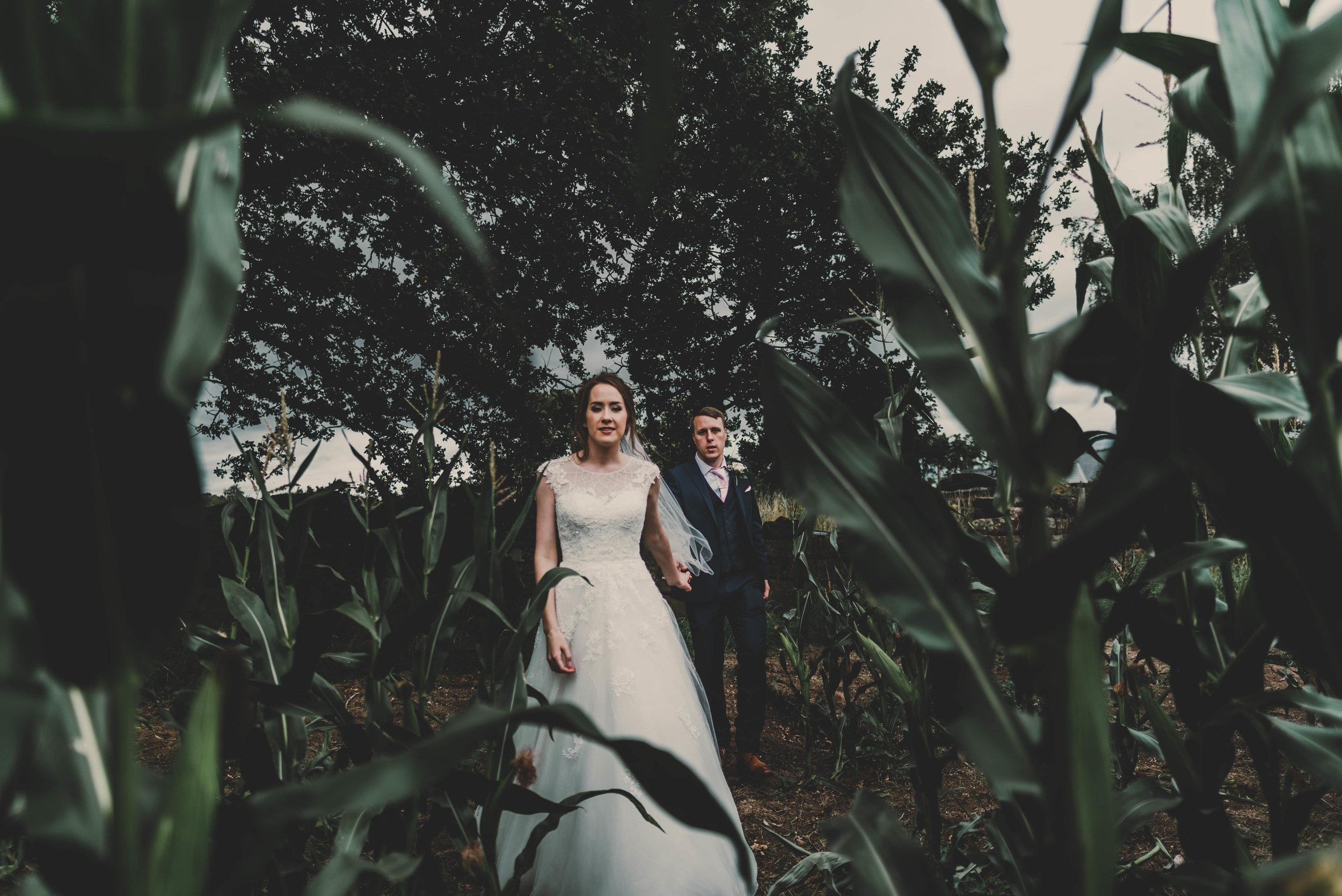 WEDDING: A dreamy DIY rustic chic wedding - Cock O Barton