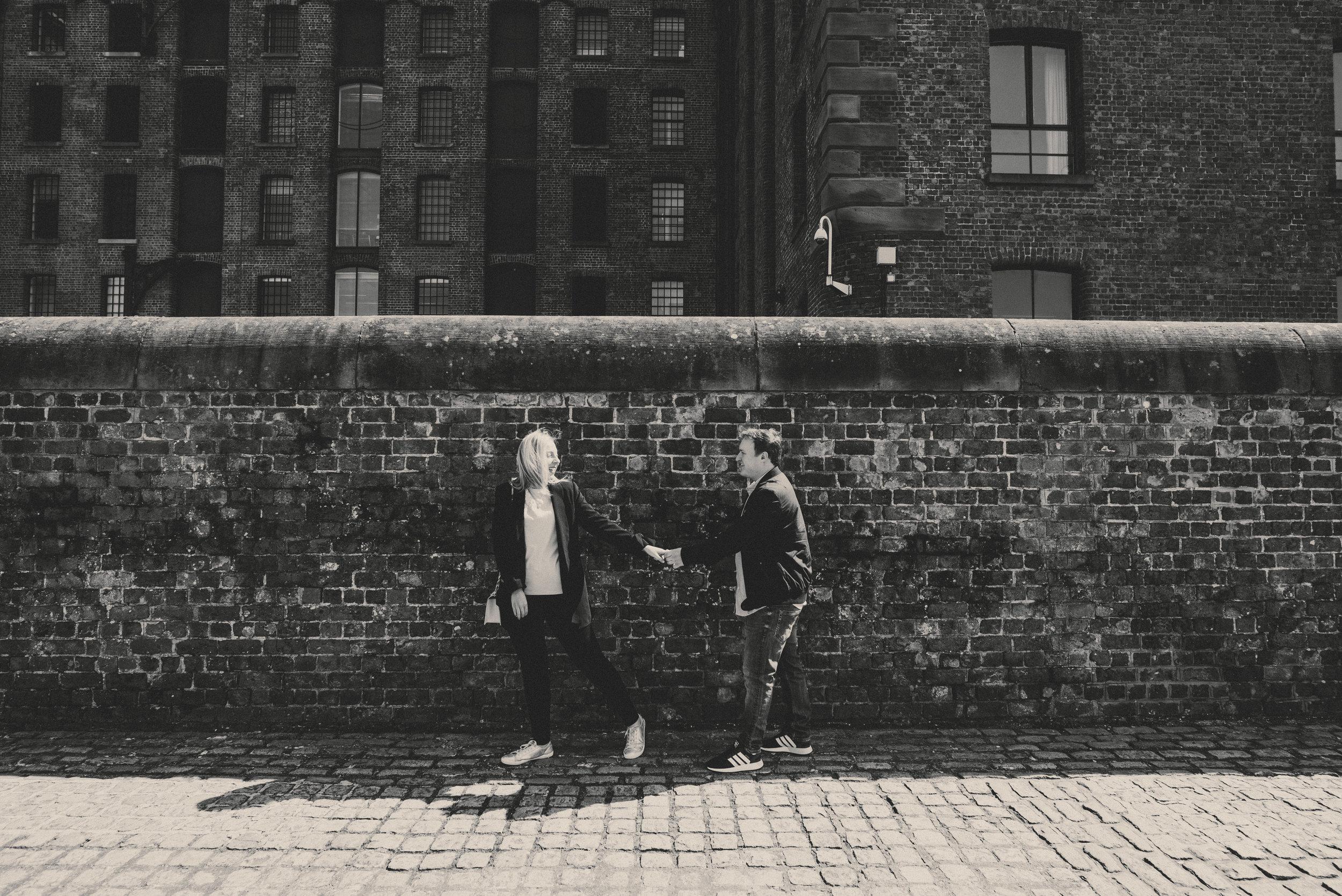 WEDDING: An Urban Liverpool pre-wedding shoot