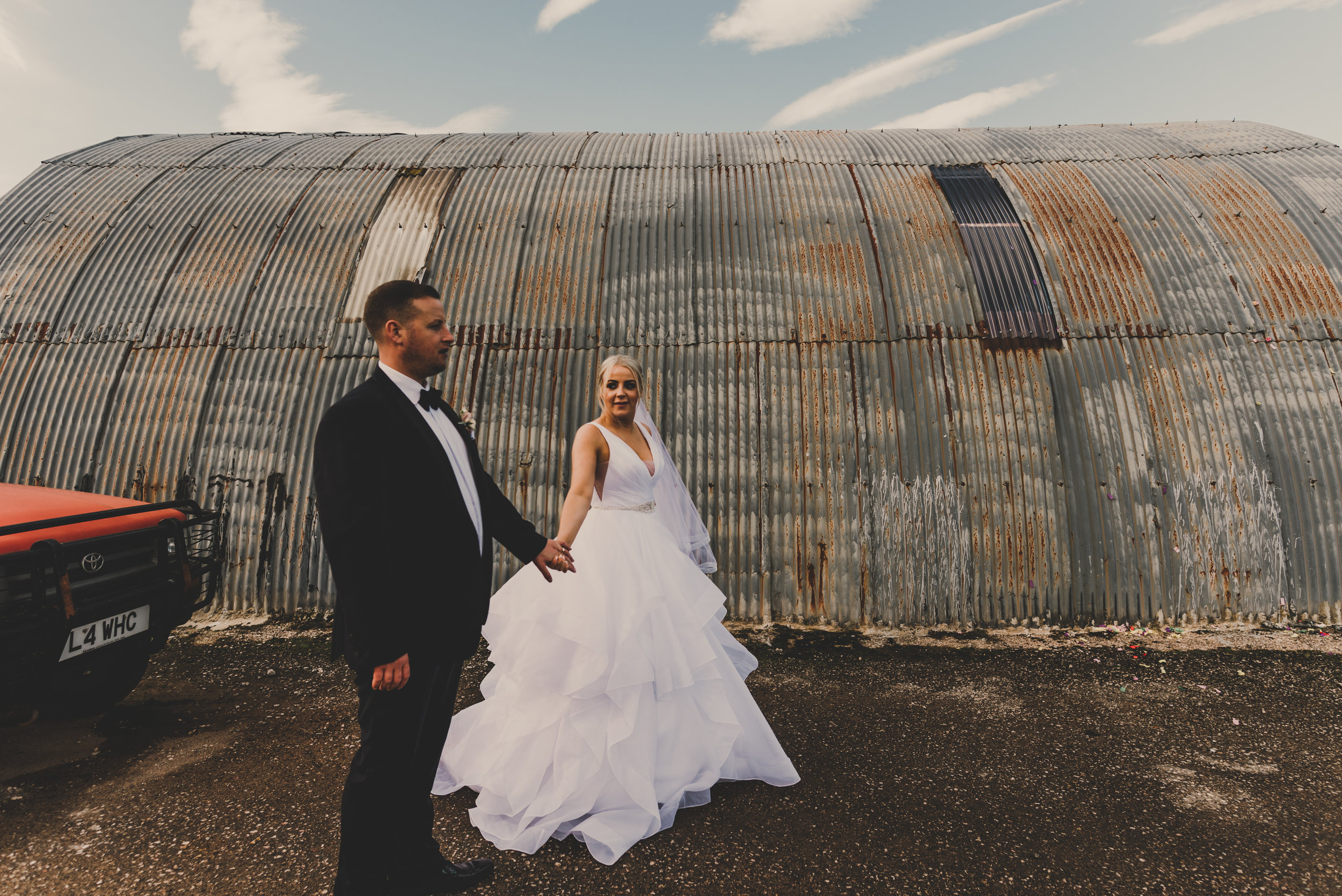 Rebecca and Dean - Eden Wedding Barn - Me and my husband couldn't thank Jade enough for everything she done on our wedding day she was perfect xxLovely girl who took amazing pictures of my cousins big day! Would 100% recommend!