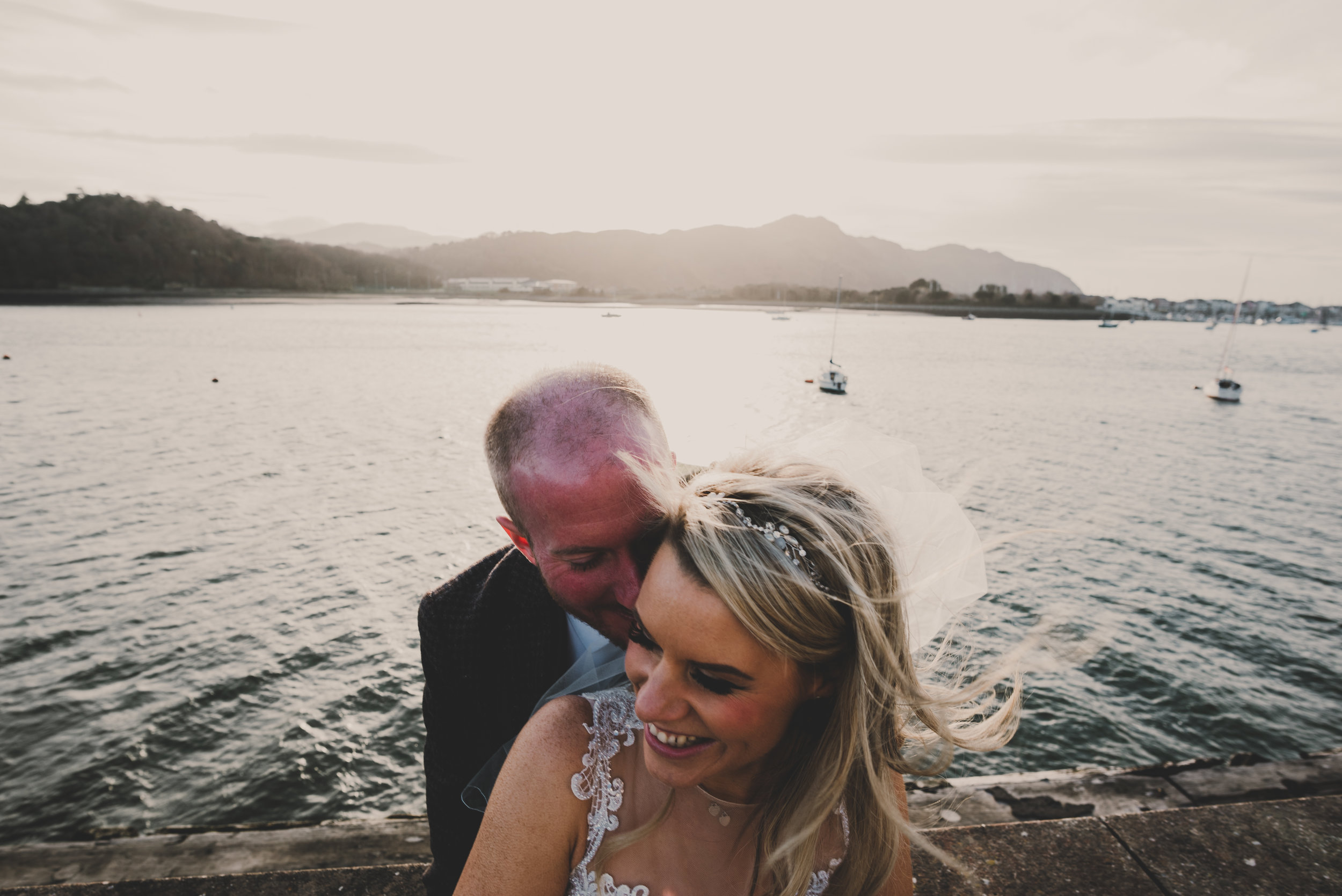 WEDDING: A Dreamy and romantic all welsh coastal wedding in Deganwy Wales