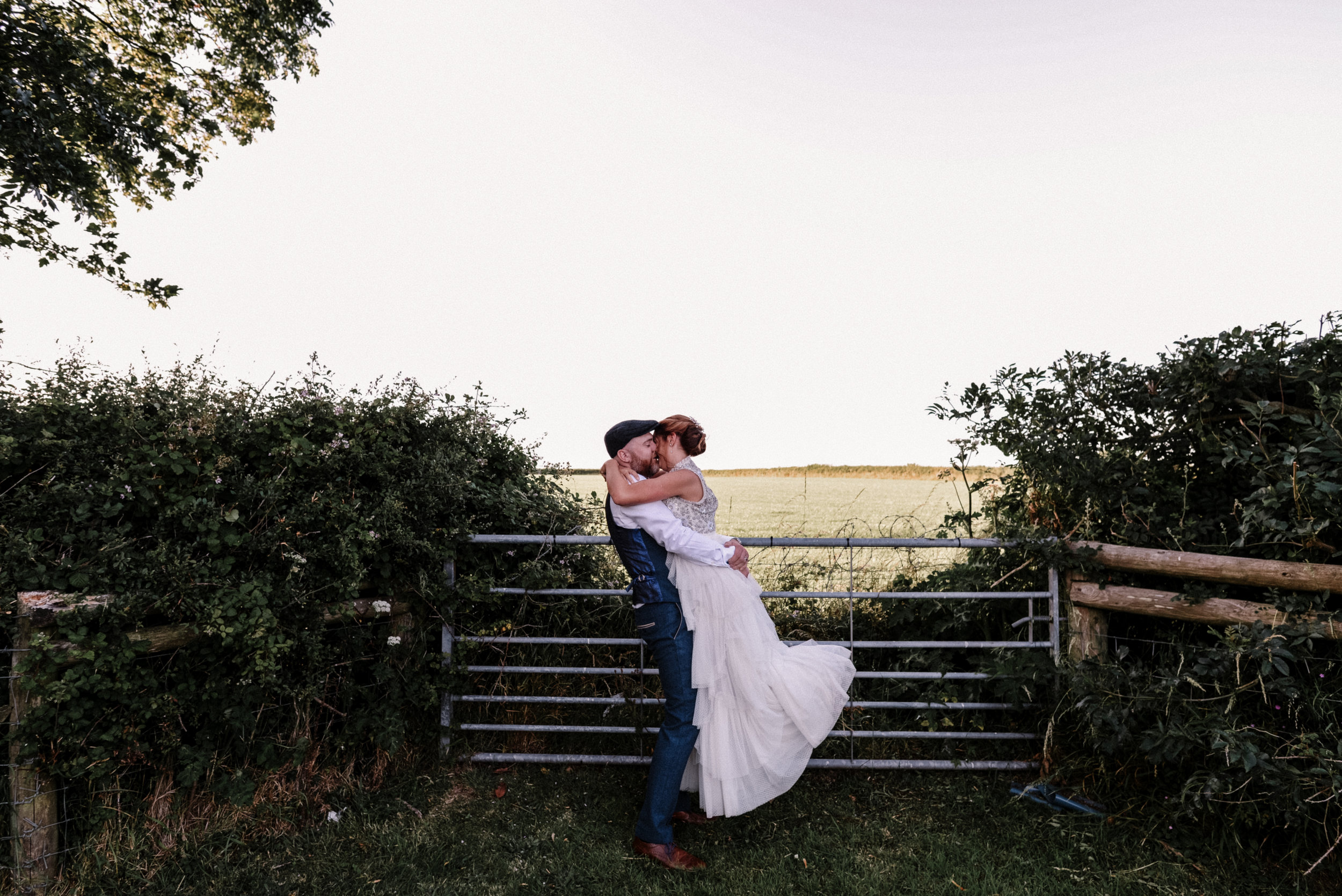 Highlights of Kris and Emma // A fun filled wedding at Woodhouse Barn - Pembrokeshire