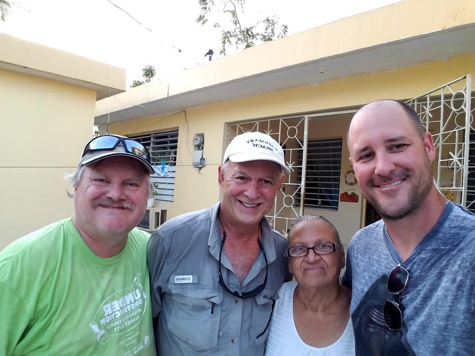 Frank Lewis , Joe Swafford and  Shea Futral with Carmen.