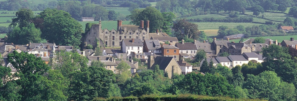 Hay-on-Wye, our local town.
