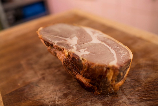Home Produced Dried Cure Ham