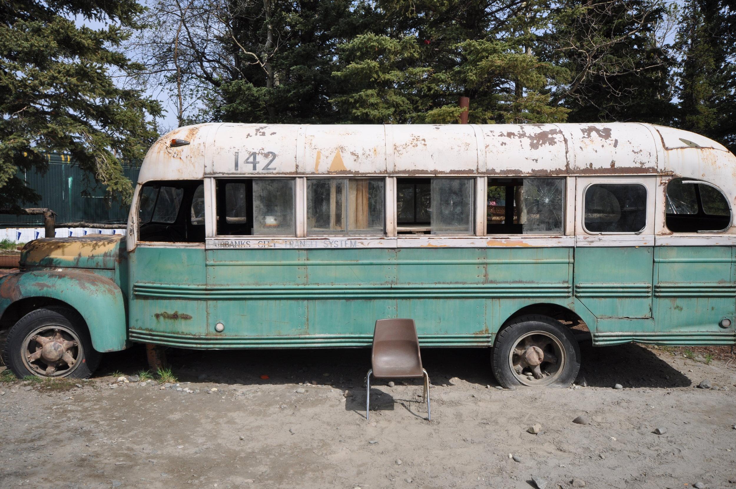 Into the Wild, Magic bus.