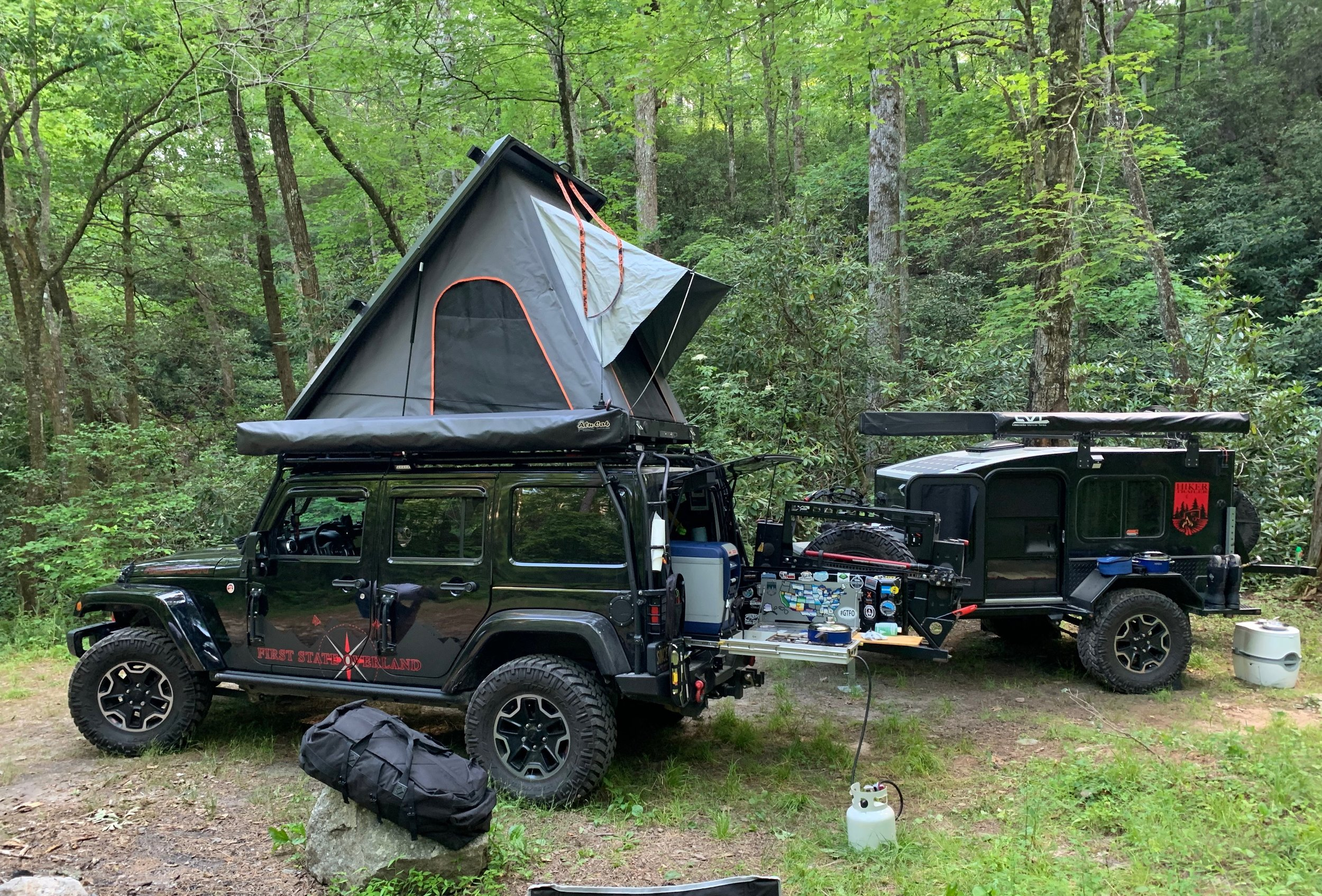 6/18/19 - on the GA Traverse