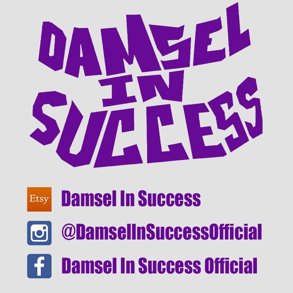 Follow Damsel in Success on social media!