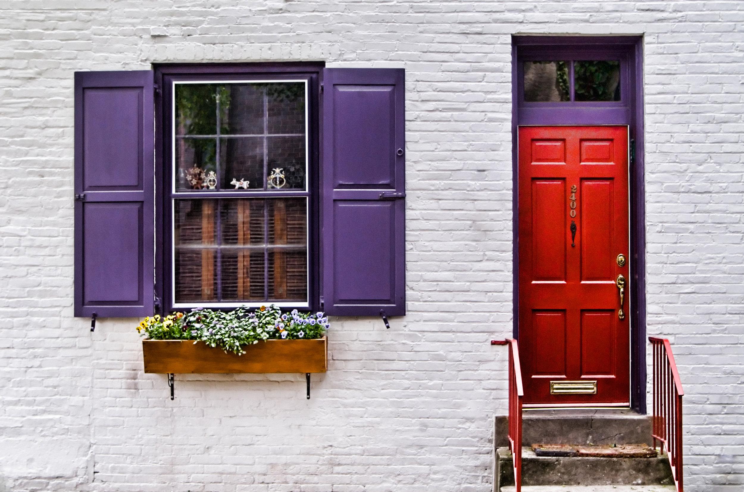 "2010 - ""House Portrait on Delancey St"" - Philadelphia"