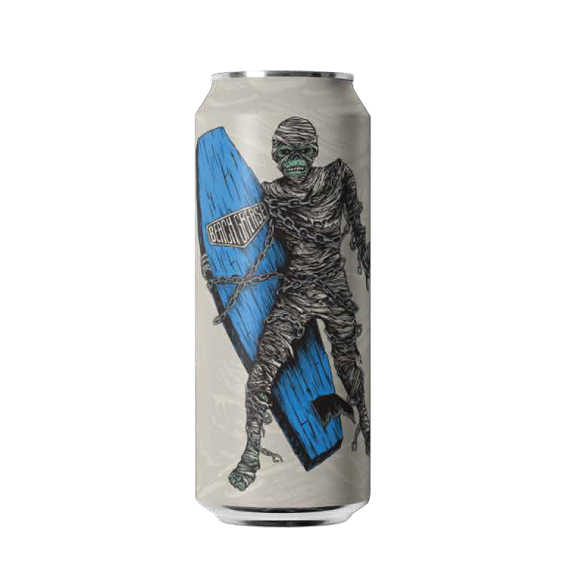 SURF MUMMY - -pale aleLike our Surf Reaper IPA it's a true westcoast Hop Forward Ale. We used the freshest Amarillo, Simcoe and Cascade hops and came up with a very fruit forward (primarily orange and citrus) , dank and resinous pale ale with hints of grapefruit and pine notes.