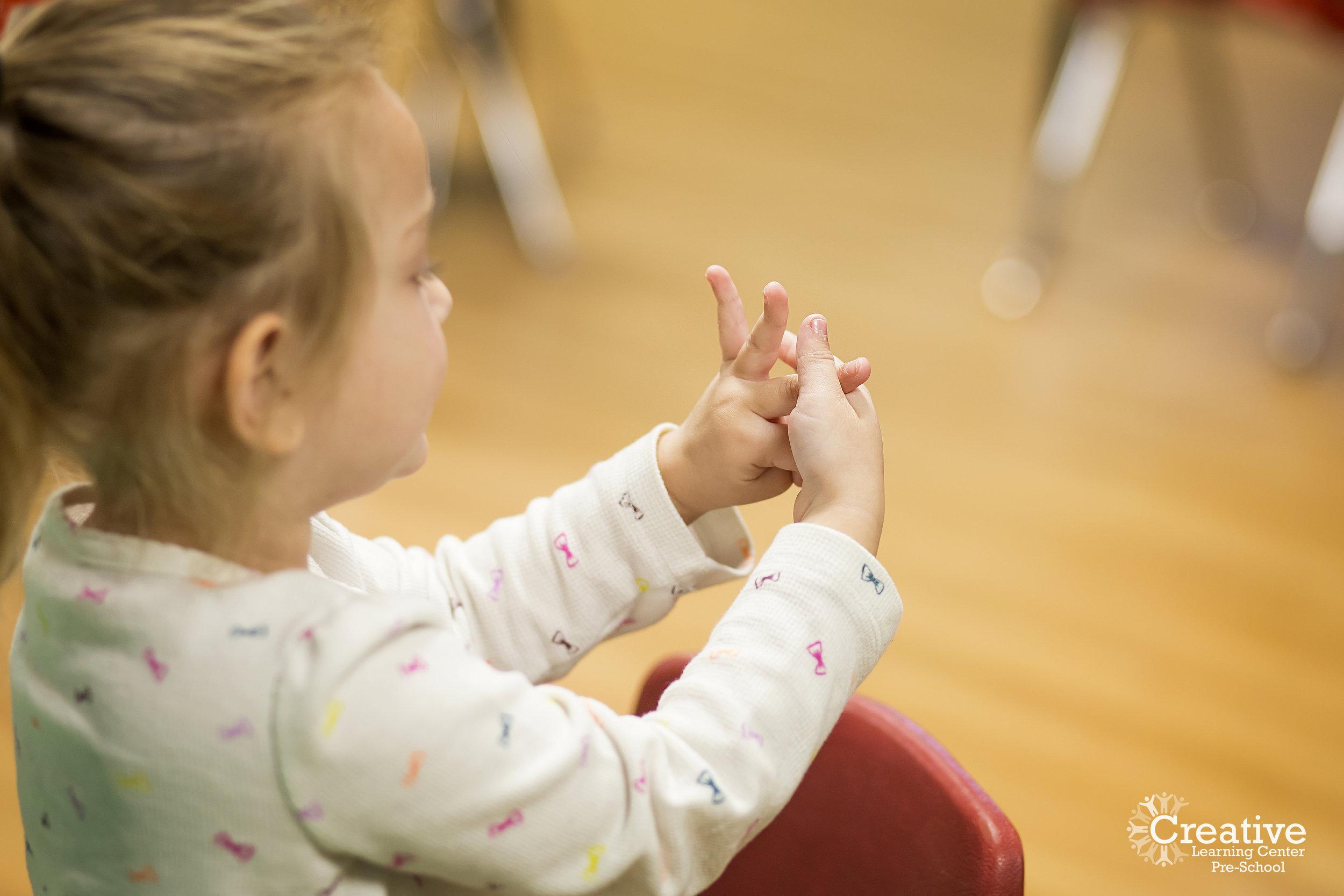 Preschool 3's Program