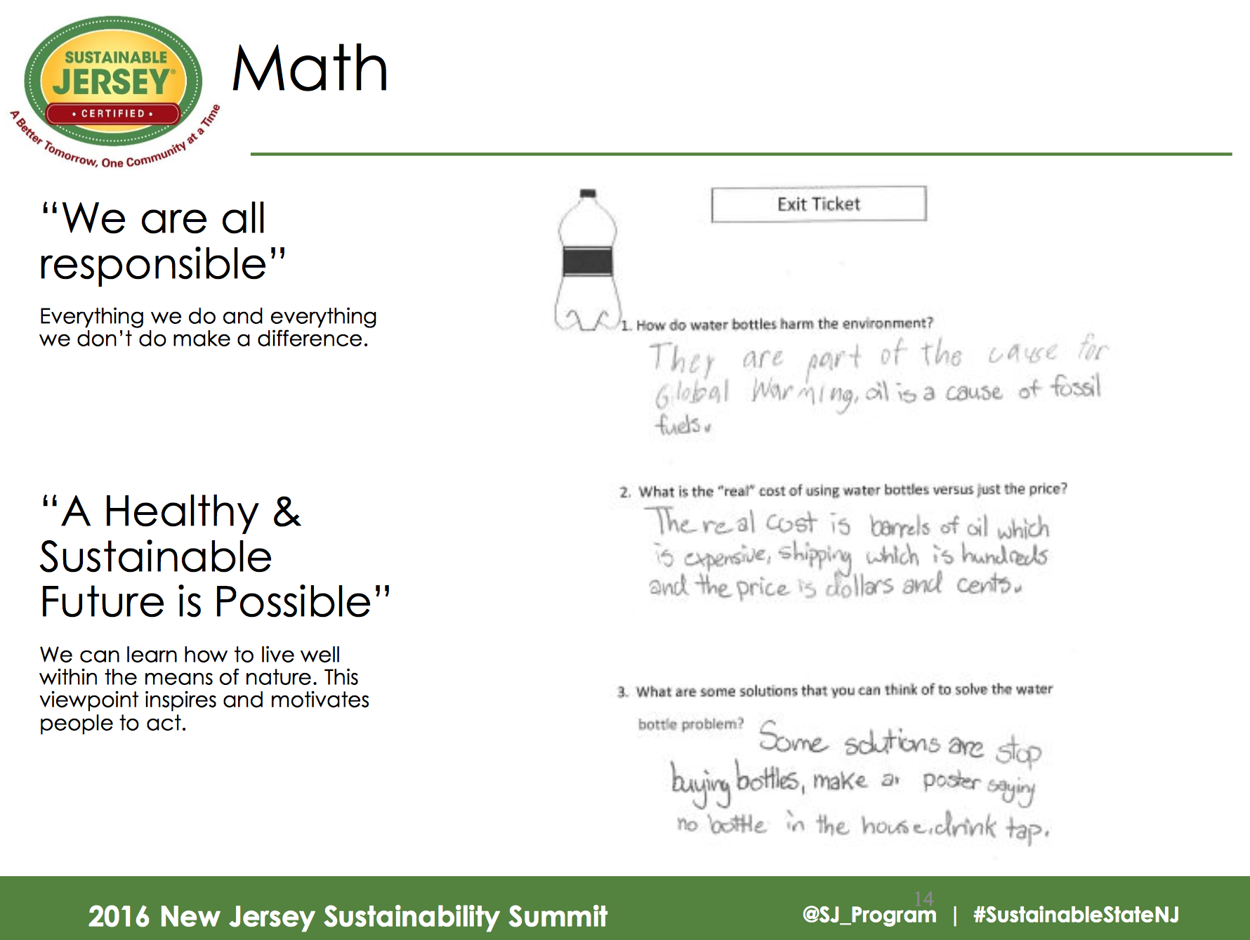 Slide courtesy of Sustainable Jersey
