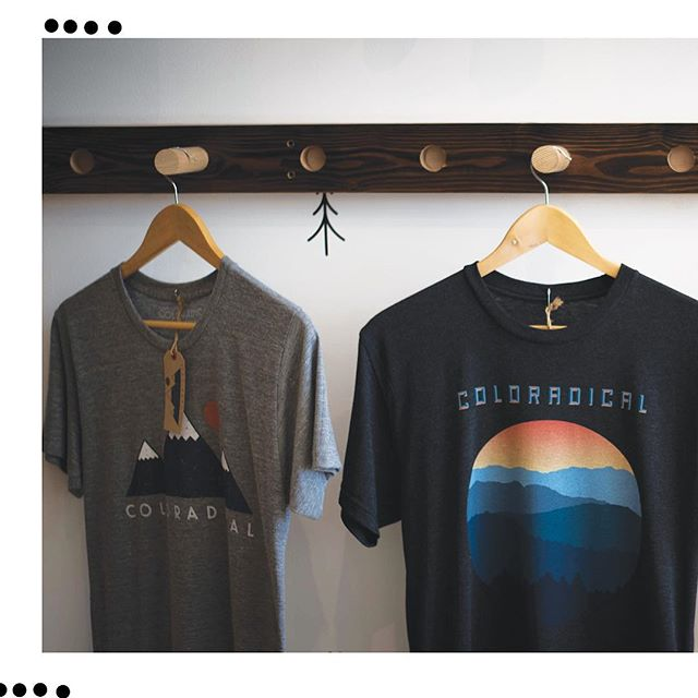 @___coloradical___  Is a great brand that we are proud to print shirts for. Swipe and enjoy.