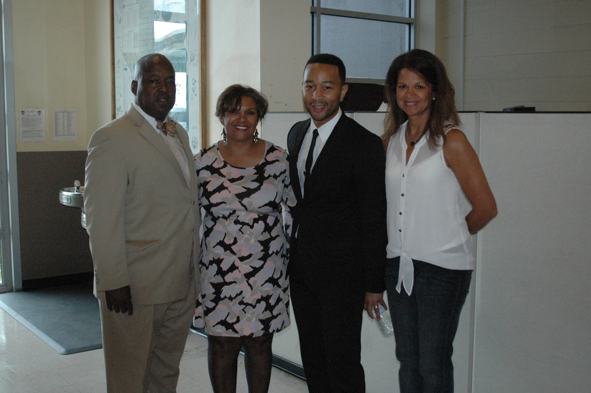 The Hamilton Family & John Legend